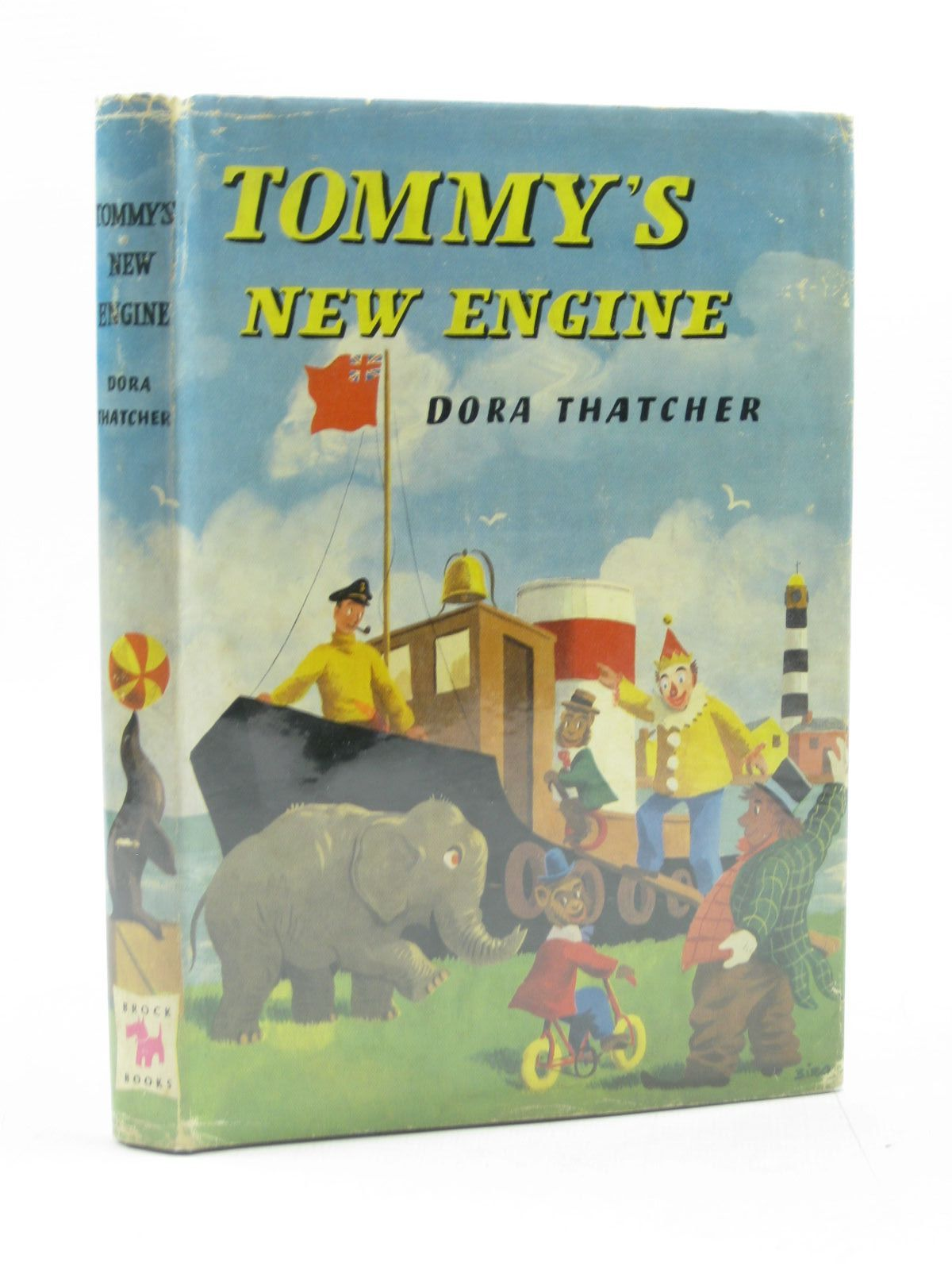 Photo of TOMMY'S NEW ENGINE written by Thatcher, Dora illustrated by Biro, published by Brockhampton Press (STOCK CODE: 1313963)  for sale by Stella & Rose's Books