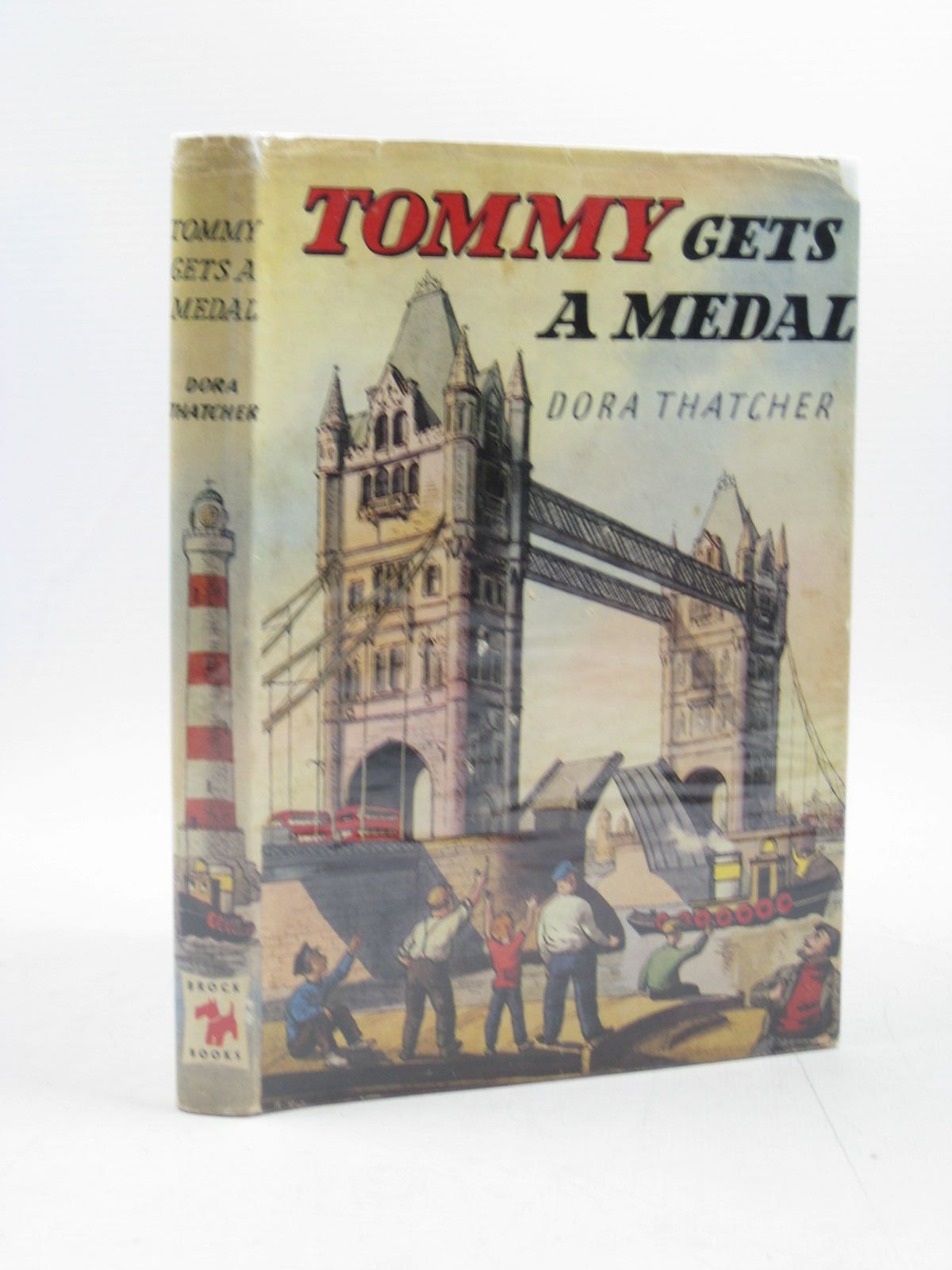 Photo of TOMMY GETS A MEDAL written by Thatcher, Dora illustrated by Biro,  published by Brockhampton Press (STOCK CODE: 1313964)  for sale by Stella & Rose's Books