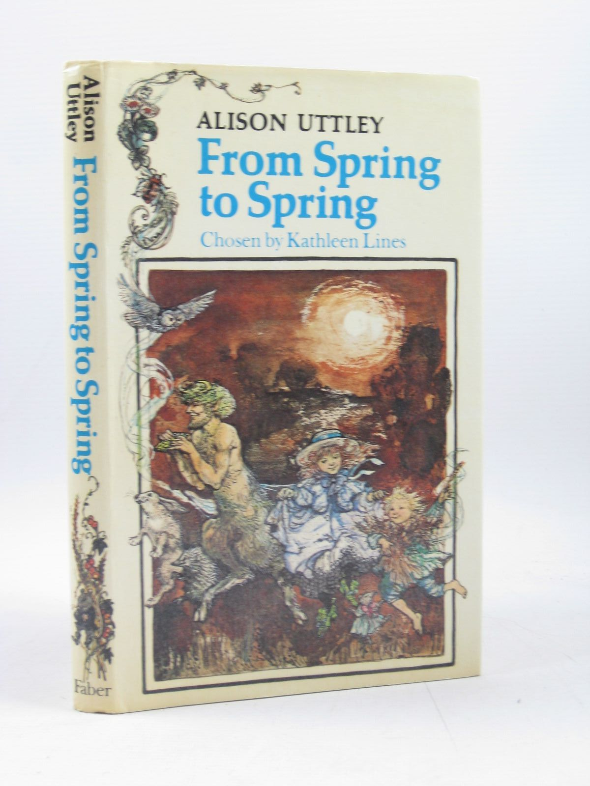 Photo of FROM SPRING TO SPRING written by Uttley, Alison illustrated by Hughes, Shirley published by Faber & Faber (STOCK CODE: 1314122)  for sale by Stella & Rose's Books