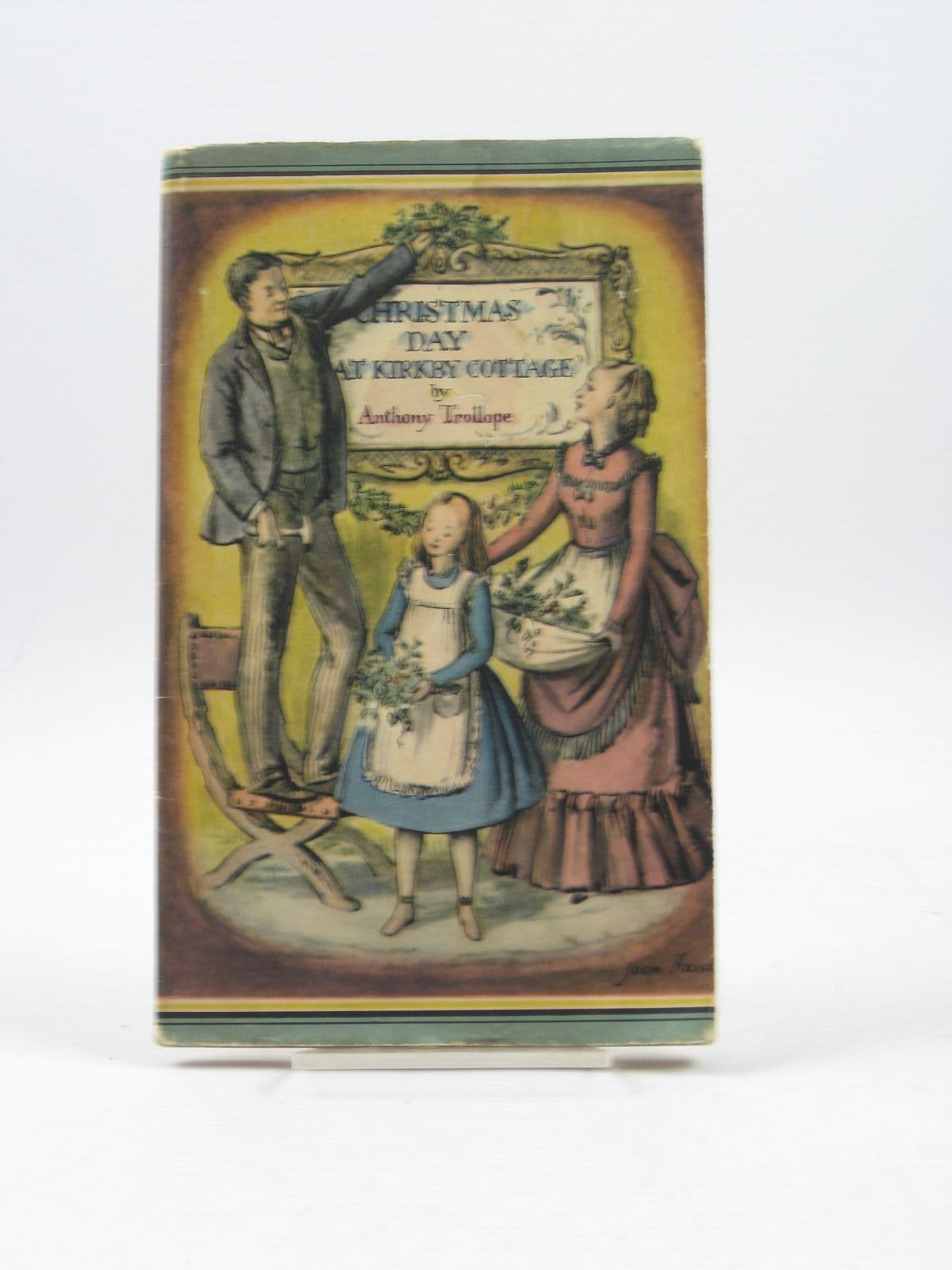 Photo of CHRISTMAS DAY AT KIRKBY COTTAGE written by Trollope, Anthony illustrated by Hassall, Joan published by Sampson Low, Marston & Co. Ltd. (STOCK CODE: 1314125)  for sale by Stella & Rose's Books