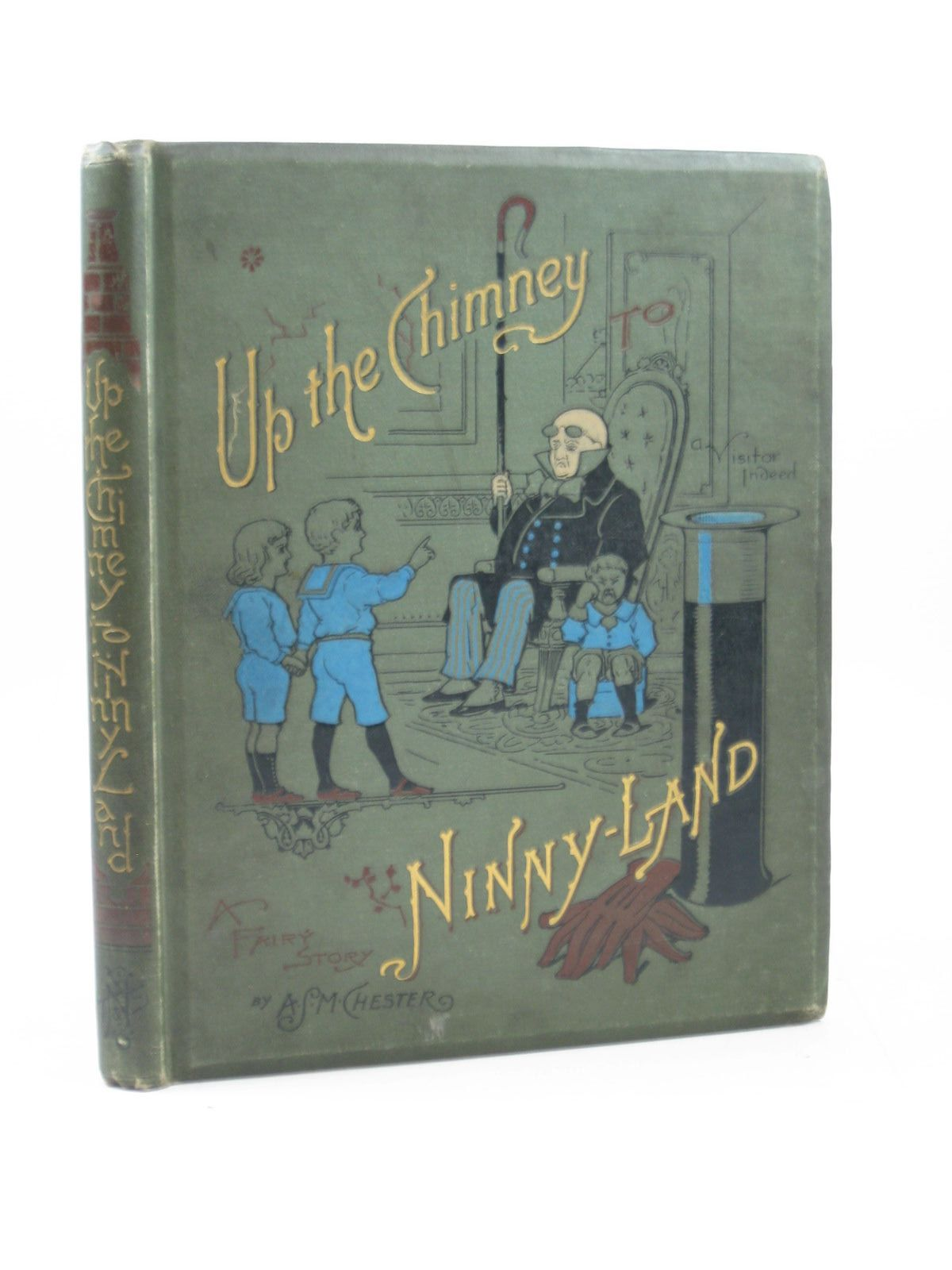 Photo of UP THE CHIMNEY TO NINNY LAND written by Chester, A.S.M. published by T. Nelson & Sons (STOCK CODE: 1314136)  for sale by Stella & Rose's Books