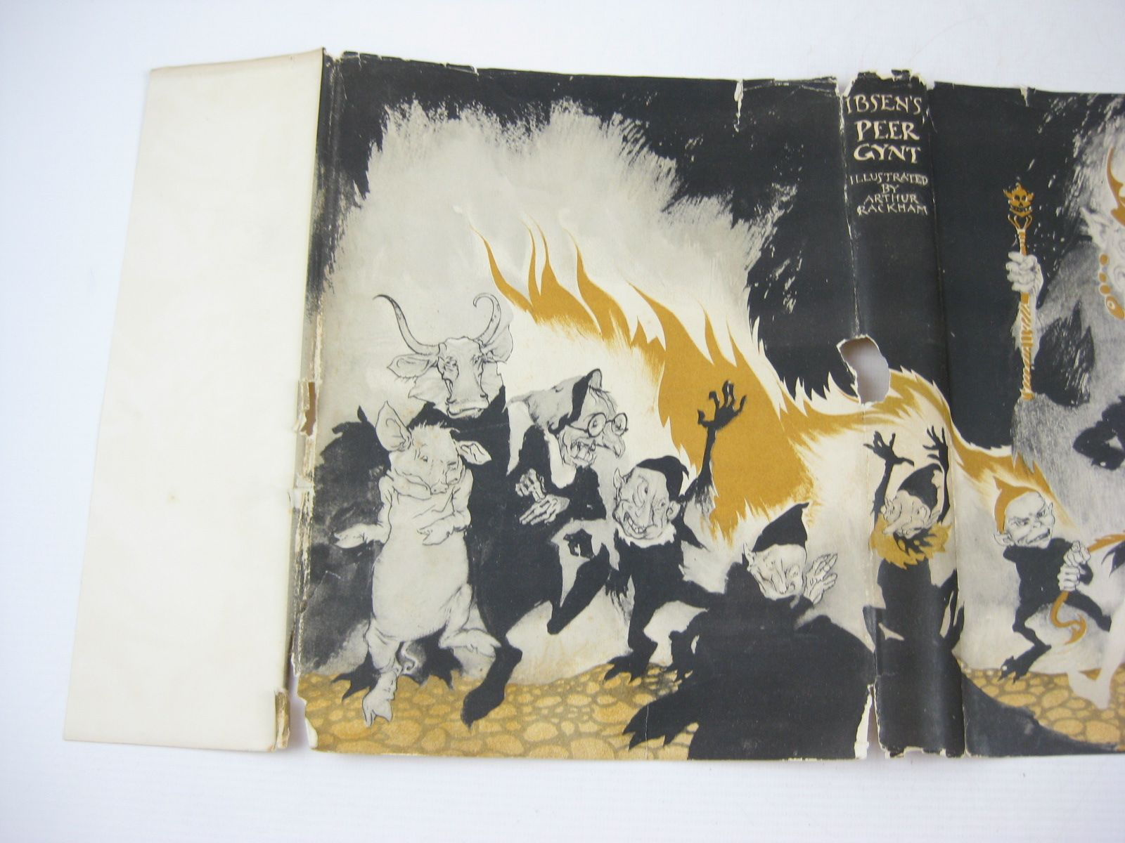 Photo of PEER GYNT written by Ibsen, Henrik illustrated by Rackham, Arthur published by George G. Harrap & Co. Ltd. (STOCK CODE: 1314197)  for sale by Stella & Rose's Books