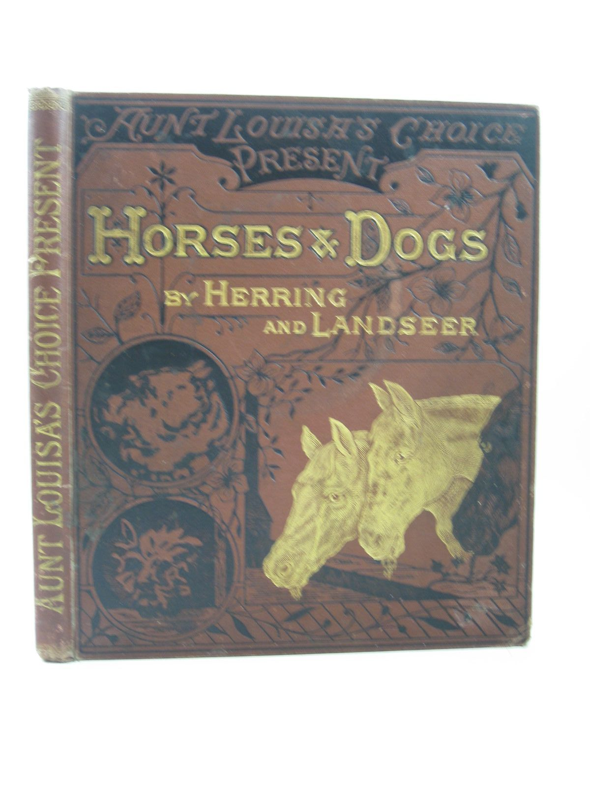 Photo of AUNT LOUISA'S CHOICE PRESENT HORSES AND DOGS written by Aunt Louisa, illustrated by Herring,<br />Landseer, published by Frederick Warne & Co. (STOCK CODE: 1314303)  for sale by Stella & Rose's Books