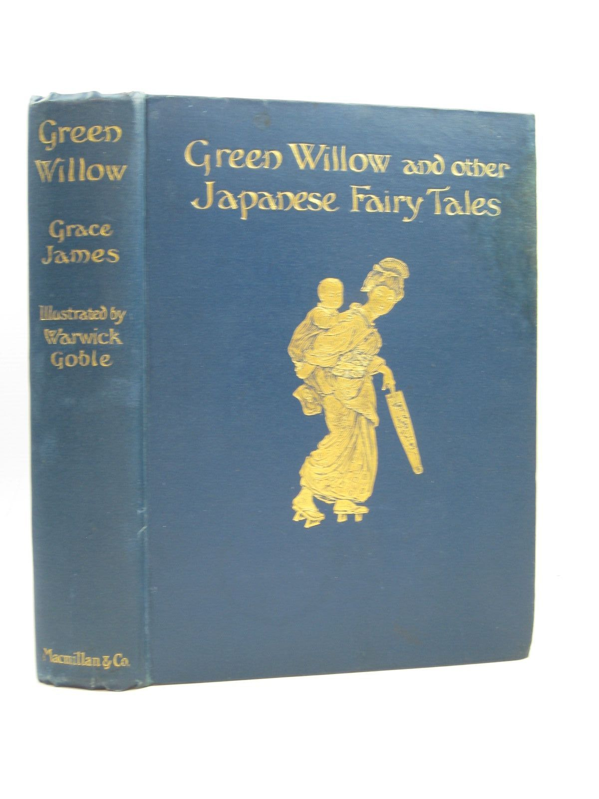 Photo of GREEN WILLOW AND OTHER JAPANESE FAIRY TALES written by James, Grace illustrated by Goble, Warwick published by Macmillan & Co. Ltd. (STOCK CODE: 1314404)  for sale by Stella & Rose's Books
