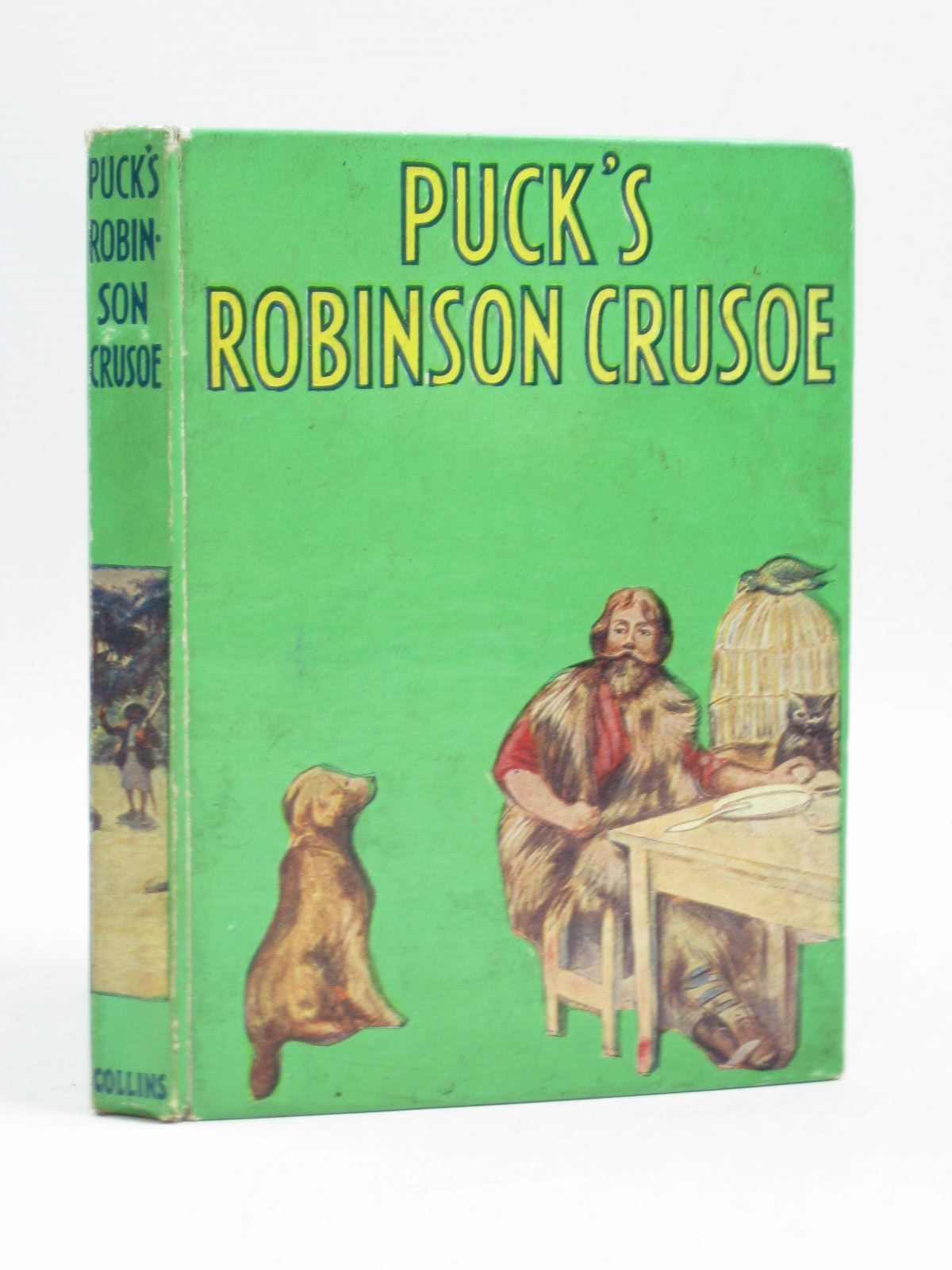robinson crusoe by daniel defoe featured books stella rose s 10 00 photo of puck s robinson crusoe