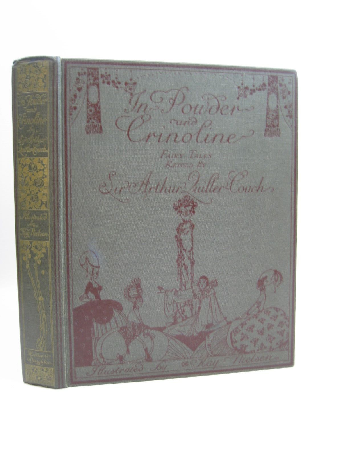 Photo of IN POWDER AND CRINOLINE written by Quiller-Couch, Arthur illustrated by Nielsen, Kay published by Hodder & Stoughton (STOCK CODE: 1314437)  for sale by Stella & Rose's Books