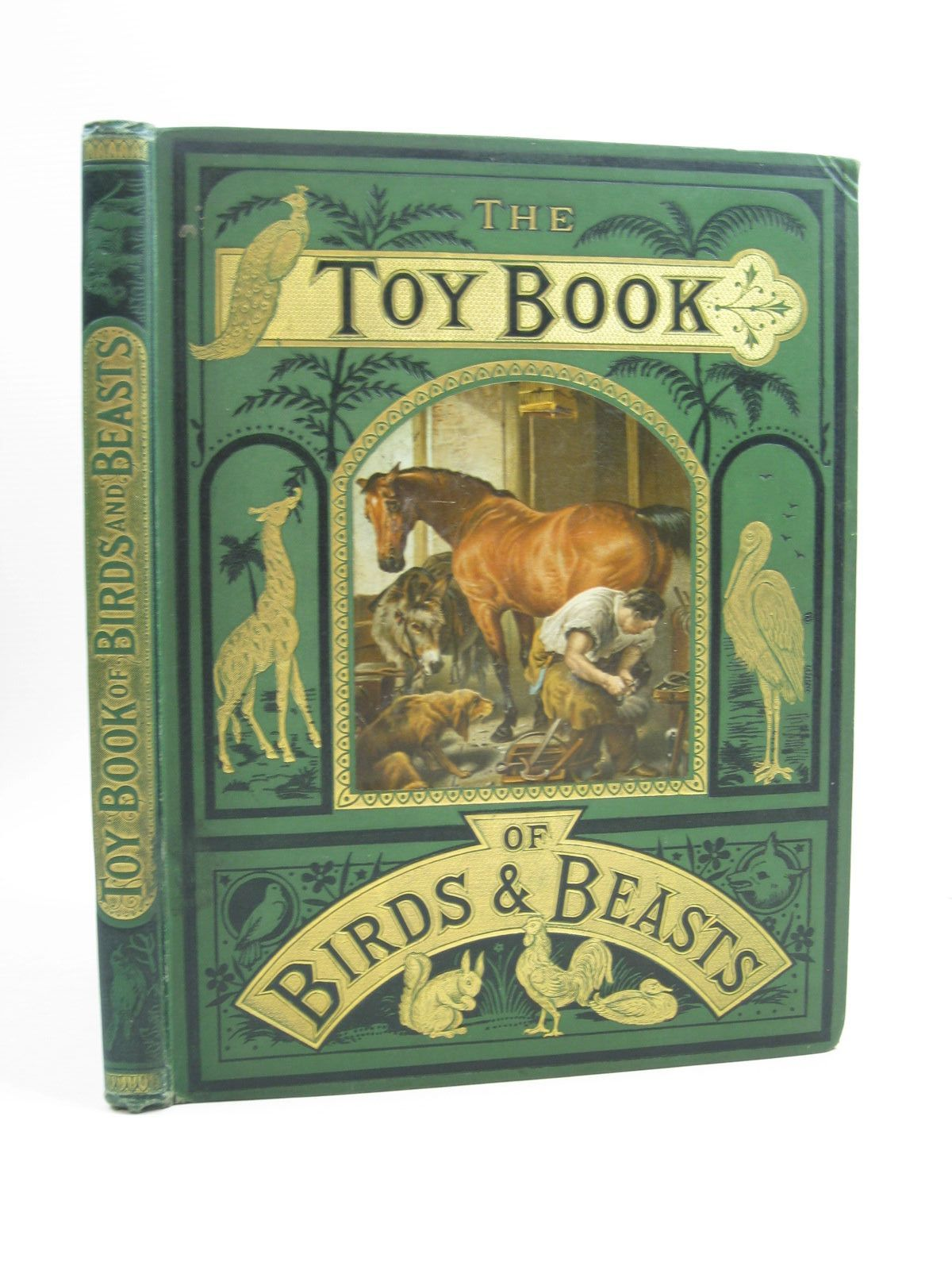 Photo of THE TOY BOOK OF BIRDS AND BEASTS published by The Religious Tract Society (STOCK CODE: 1314443)  for sale by Stella & Rose's Books