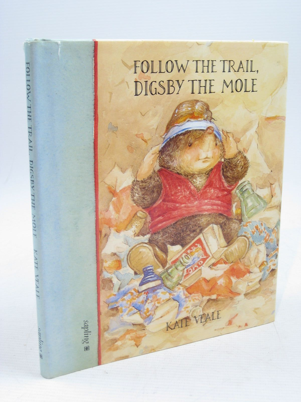 Photo of FOLLOW THE TRAIL, DIGSBY THE MOLE written by Veale, Kate illustrated by Veale, Kate published by Sapling (STOCK CODE: 1314465)  for sale by Stella & Rose's Books