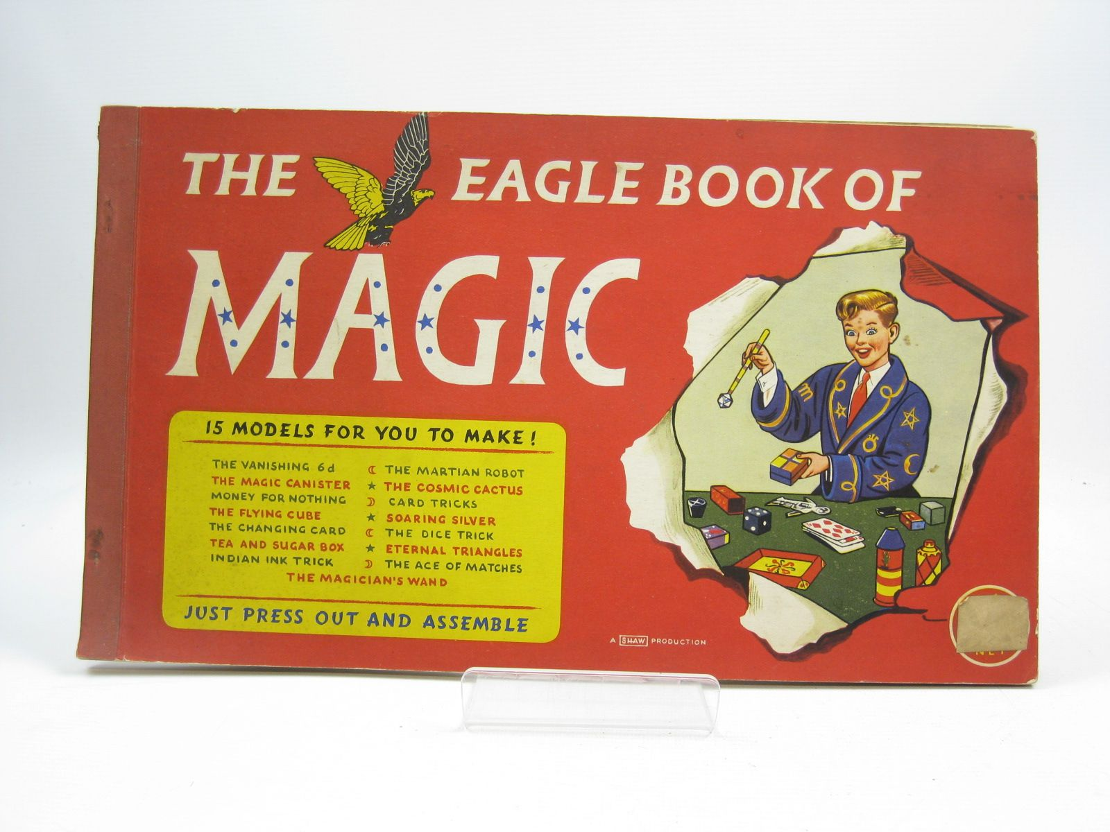 Photo of THE EAGLE BOOK OF MAGIC published by Hulton Press Ltd. (STOCK CODE: 1314483)  for sale by Stella & Rose's Books