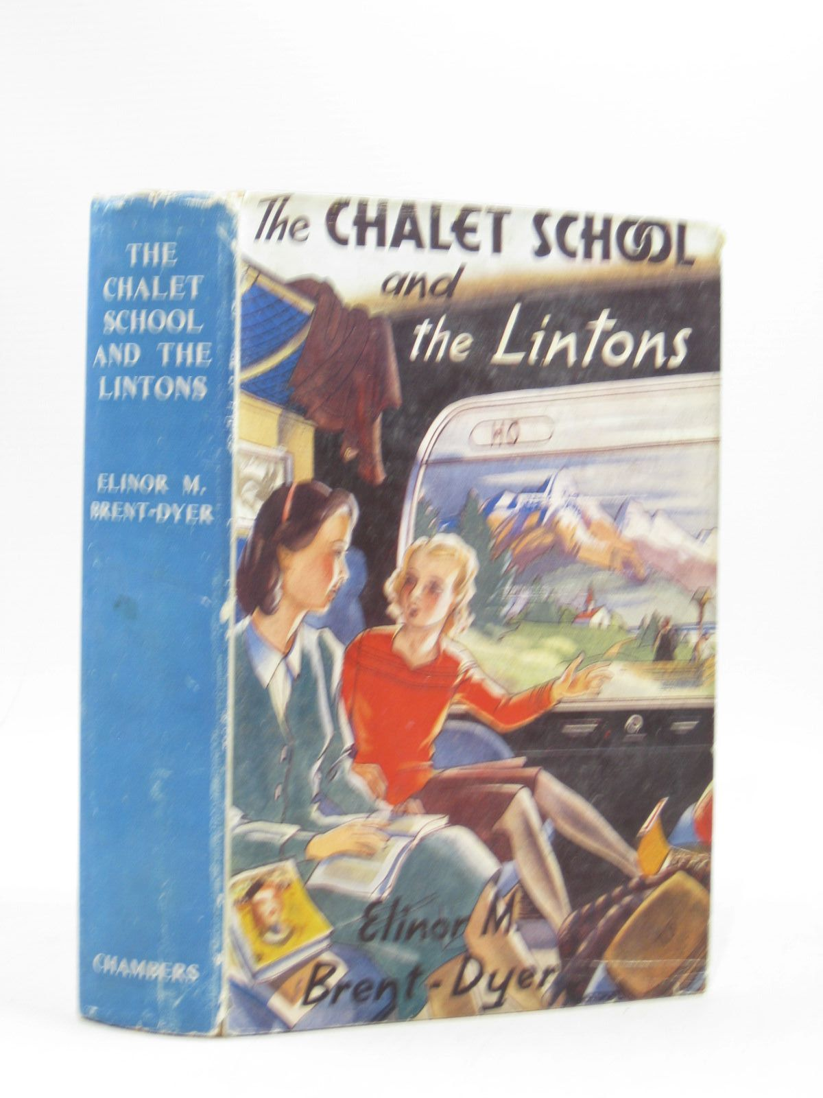 Photo of THE CHALET SCHOOL AND THE LINTONS written by Brent-Dyer, Elinor M. published by W. & R. Chambers Limited (STOCK CODE: 1314499)  for sale by Stella & Rose's Books