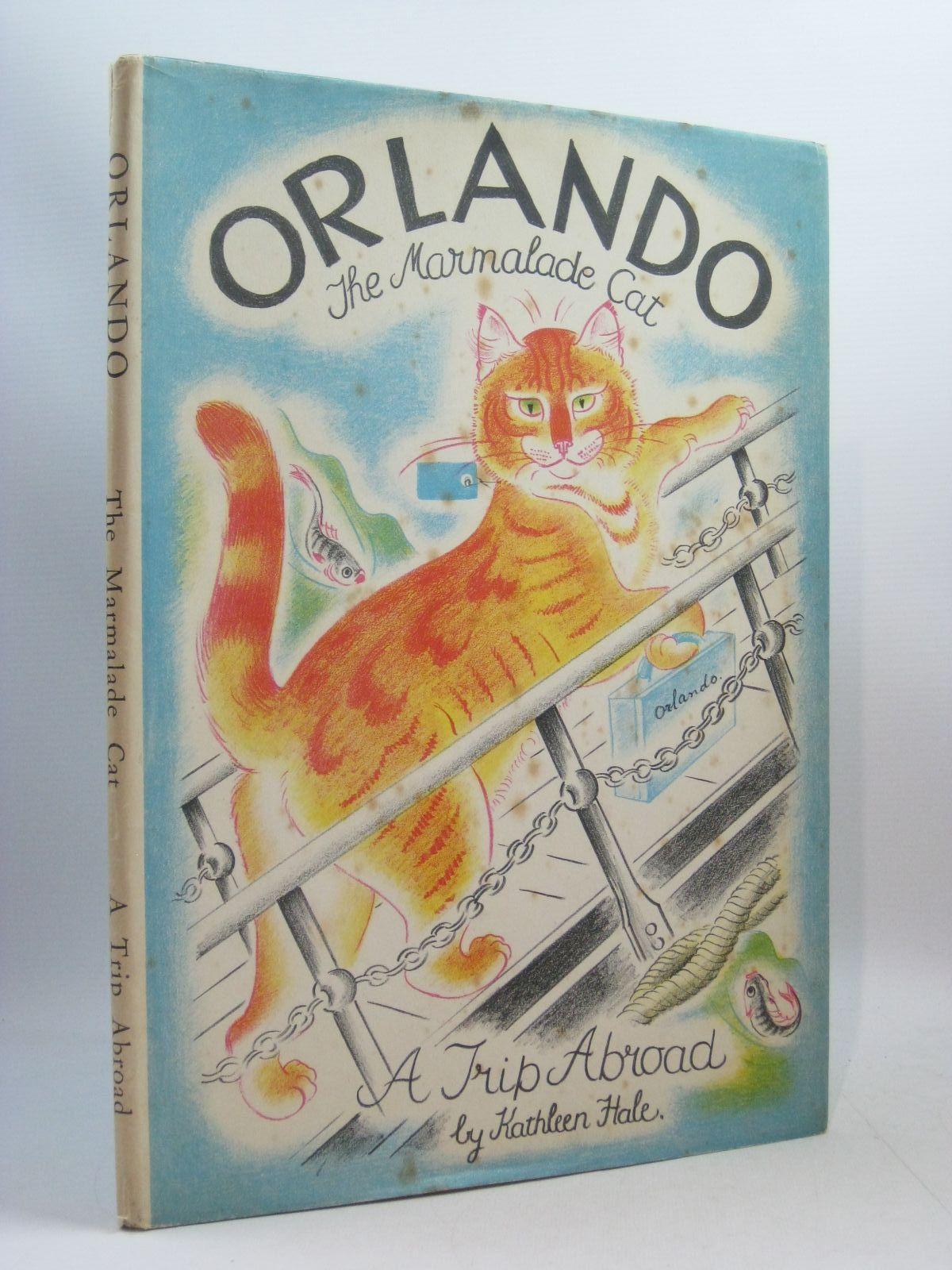 Photo of ORLANDO (THE MARMALADE CAT) A TRIP ABROAD