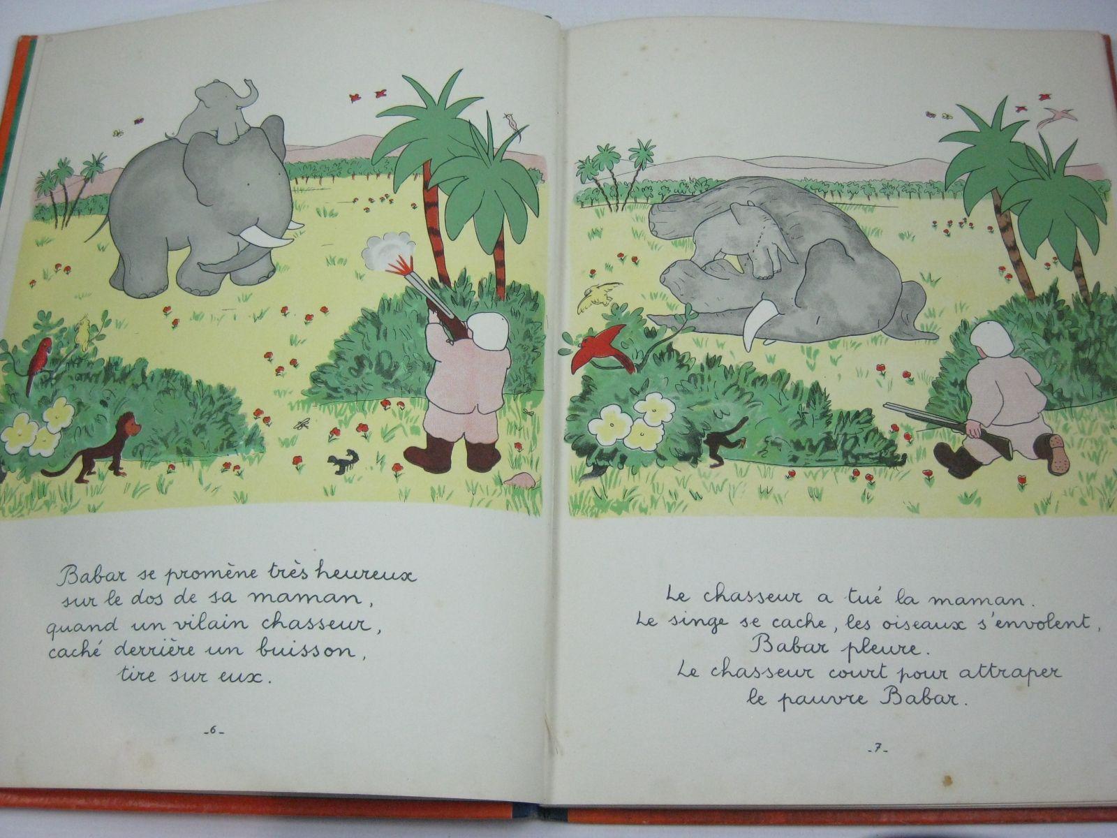Photo of HISTOIRE DE BABAR LE PETIT ELEPHANT written by De Brunhoff, Jean illustrated by De Brunhoff, Jean published by Editions Du Jardin Des Modes (STOCK CODE: 1314648)  for sale by Stella & Rose's Books
