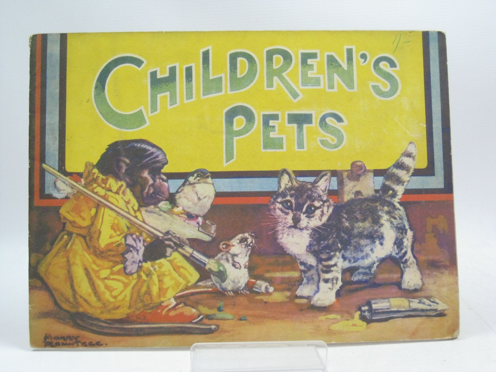 Photo of CHILDREN'S PETS illustrated by Rountree, Harry (STOCK CODE: 1314661)  for sale by Stella & Rose's Books