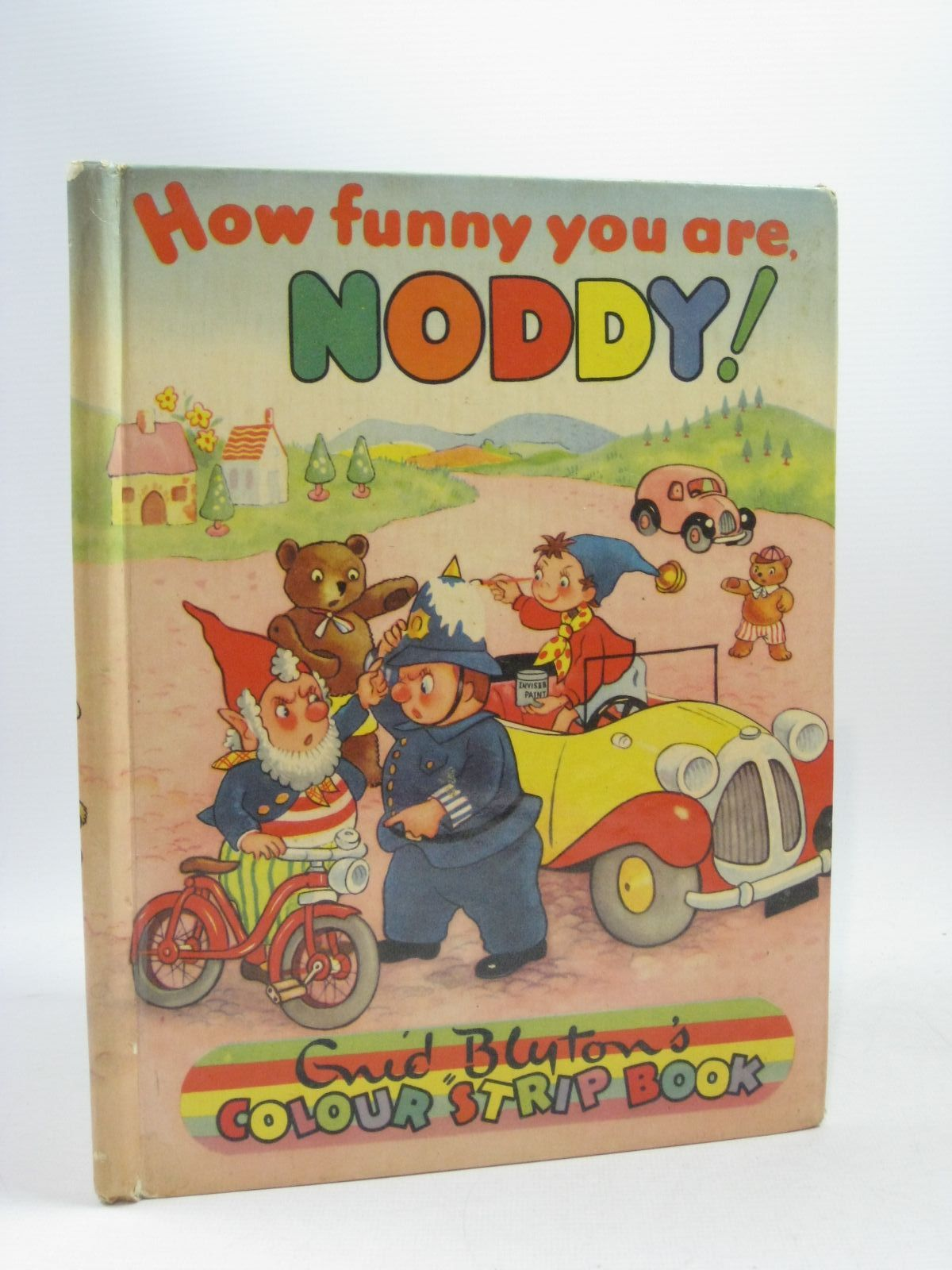 Photo of HOW FUNNY YOU ARE NODDY! written by Blyton, Enid published by Sampson Low, Marston & Co. Ltd., C.A. Publications Ltd. (STOCK CODE: 1314787)  for sale by Stella & Rose's Books