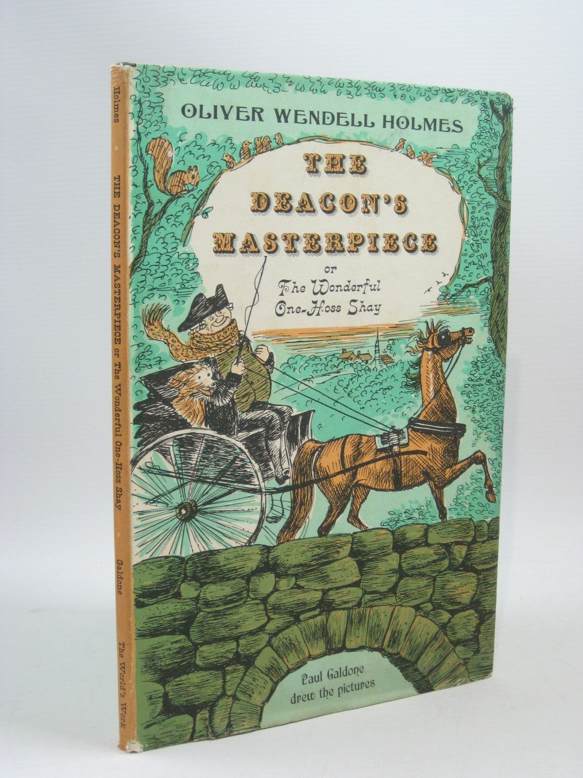 the deacons masterpiece by oliver wendell holmes The project gutenberg ebook of the one hoss shay, by oliver wendell holmes this ebook is for the use of anyone anywhere at no cost and with almost no restrictions whatsoever.