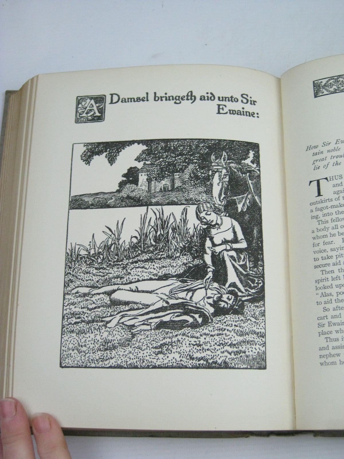 Photo of THE STORY OF SIR LANCELOT AND HIS COMPANIONS written by Pyle, Howard illustrated by Pyle, Howard published by Chapman & Hall Ltd (STOCK CODE: 1314826)  for sale by Stella & Rose's Books