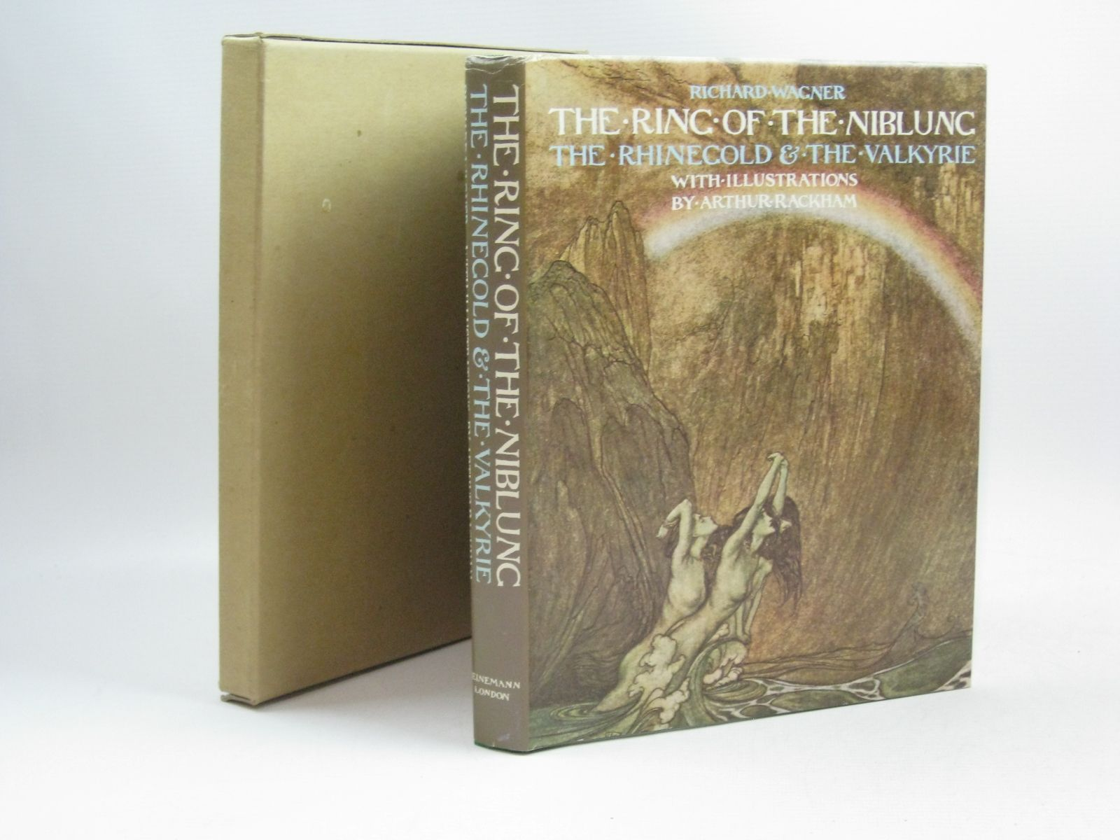 Photo of THE RING OF THE NIBLUNG: THE RHINEGOLD AND THE VALKYRIE written by Wagner, Richard illustrated by Rackham, Arthur published by William Heinemann Ltd. (STOCK CODE: 1314827)  for sale by Stella & Rose's Books