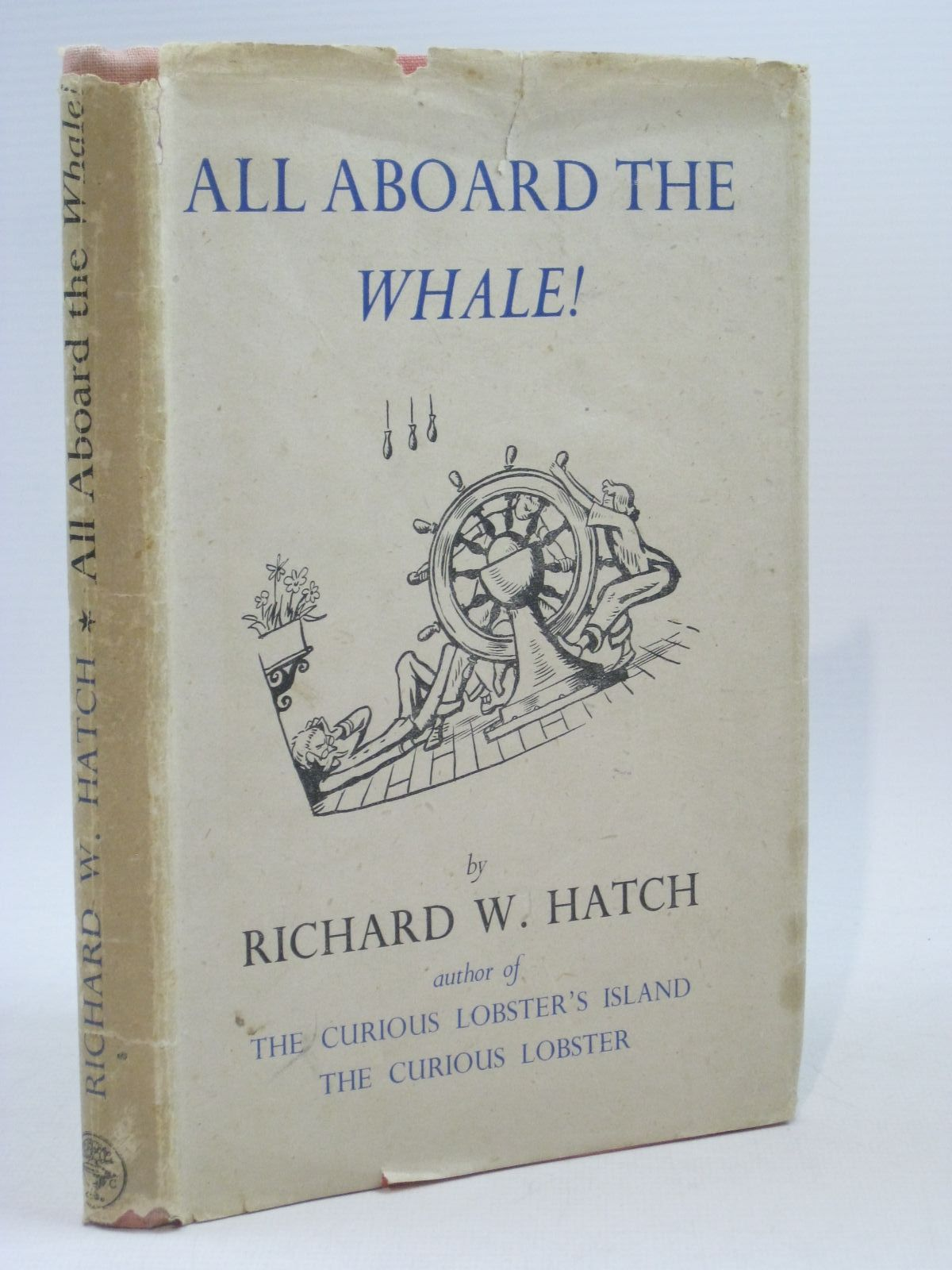 Photo of ALL ABOARD THE WHALE! written by Hatch, Richard W. illustrated by Simont, Marc published by Jonathan Cape (STOCK CODE: 1314831)  for sale by Stella & Rose's Books