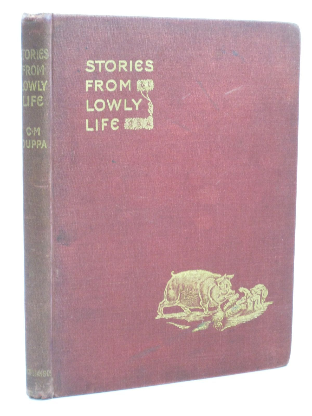 Photo of STORIES FROM LOWLY LIFE written by Duppa, C.M. illustrated by Wain, Louis published by Macmillan & Co. (STOCK CODE: 1314834)  for sale by Stella & Rose's Books