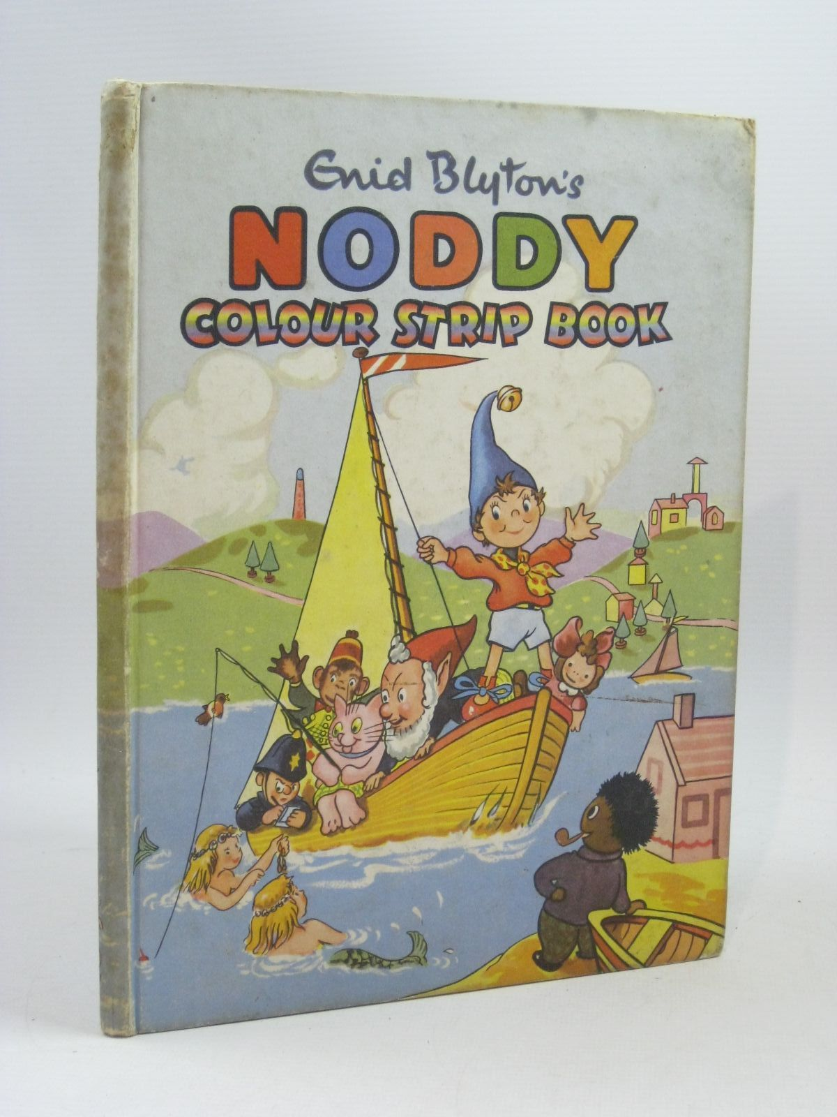 Photo of ENID BLYTON'S NODDY COLOUR STRIP BOOK written by Blyton, Enid illustrated by Beek,  published by Sampson Low, Marston & Co. Ltd. (STOCK CODE: 1314836)  for sale by Stella & Rose's Books