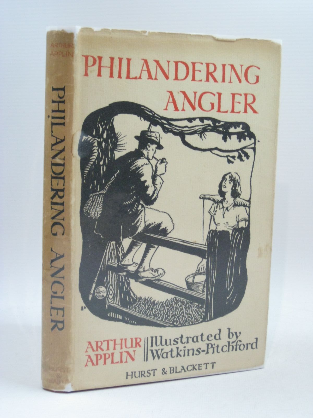 Photo of PHILANDERING ANGLER written by Applin, Arthur illustrated by BB,  published by Hurst & Blackett Ltd. (STOCK CODE: 1314857)  for sale by Stella & Rose's Books