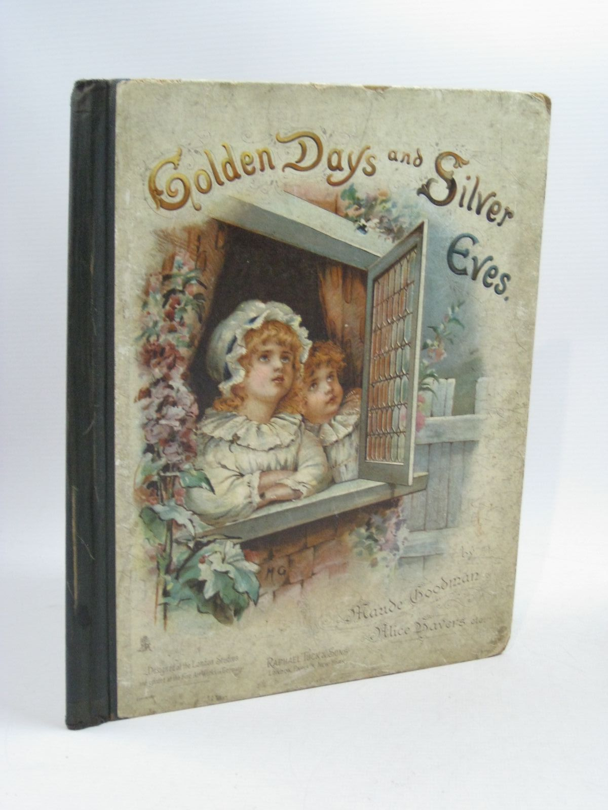 Photo of GOLDEN DAYS AND SILVER EVES written by Scanes, Arthur<br />Burnside, Helen Marion illustrated by Goodman, Maude<br />Havers, Alice<br />Moody, Frannie<br />Walker, Marcella published by Raphael Tuck & Sons (STOCK CODE: 1314875)  for sale by Stella & Rose's Books