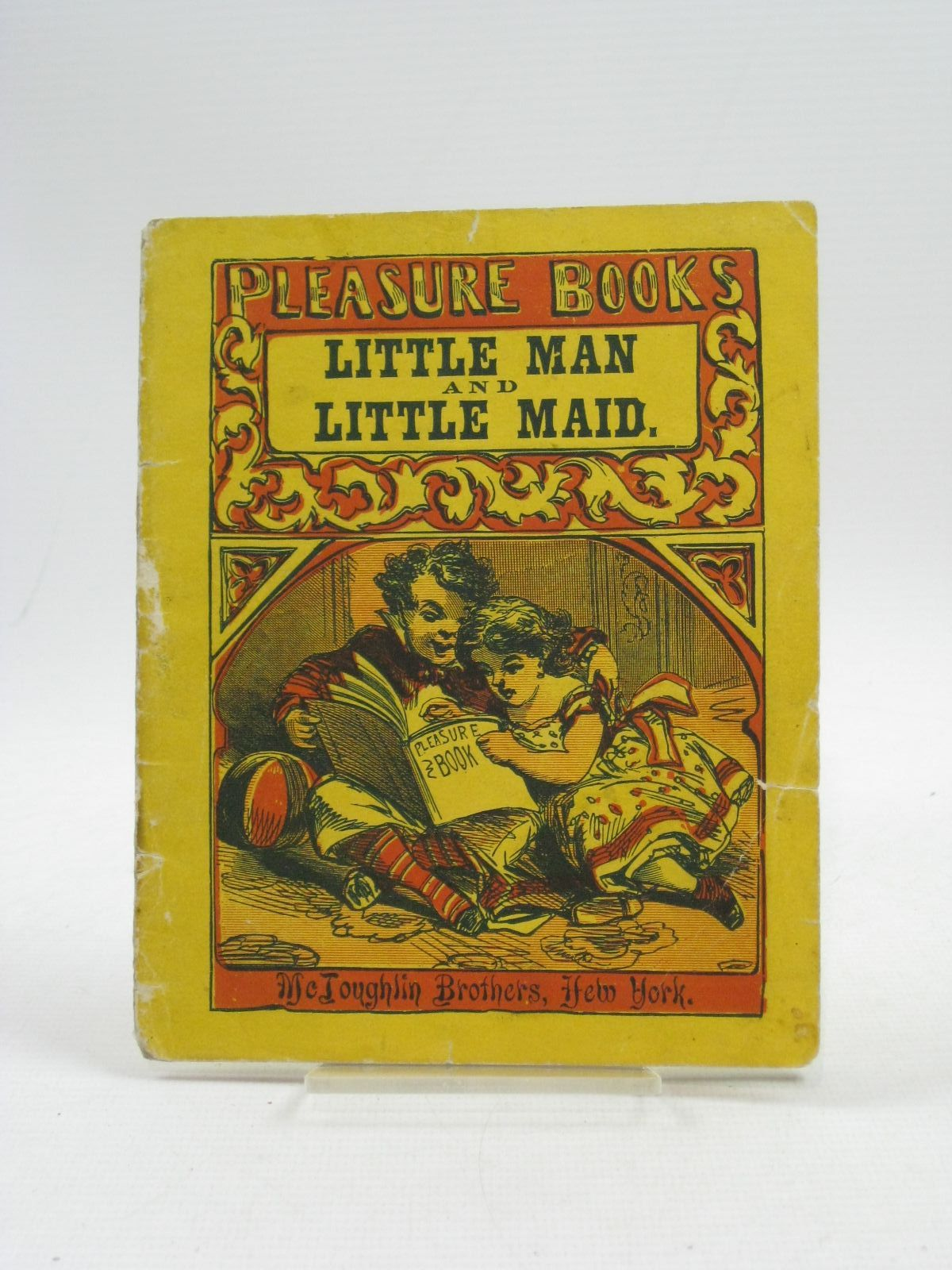Photo of THE COURTSHIP AND WEDDING OF THE LITTLE MAN AND THE LITTLE MAID published by McLoughlin Bros. (STOCK CODE: 1314919)  for sale by Stella & Rose's Books