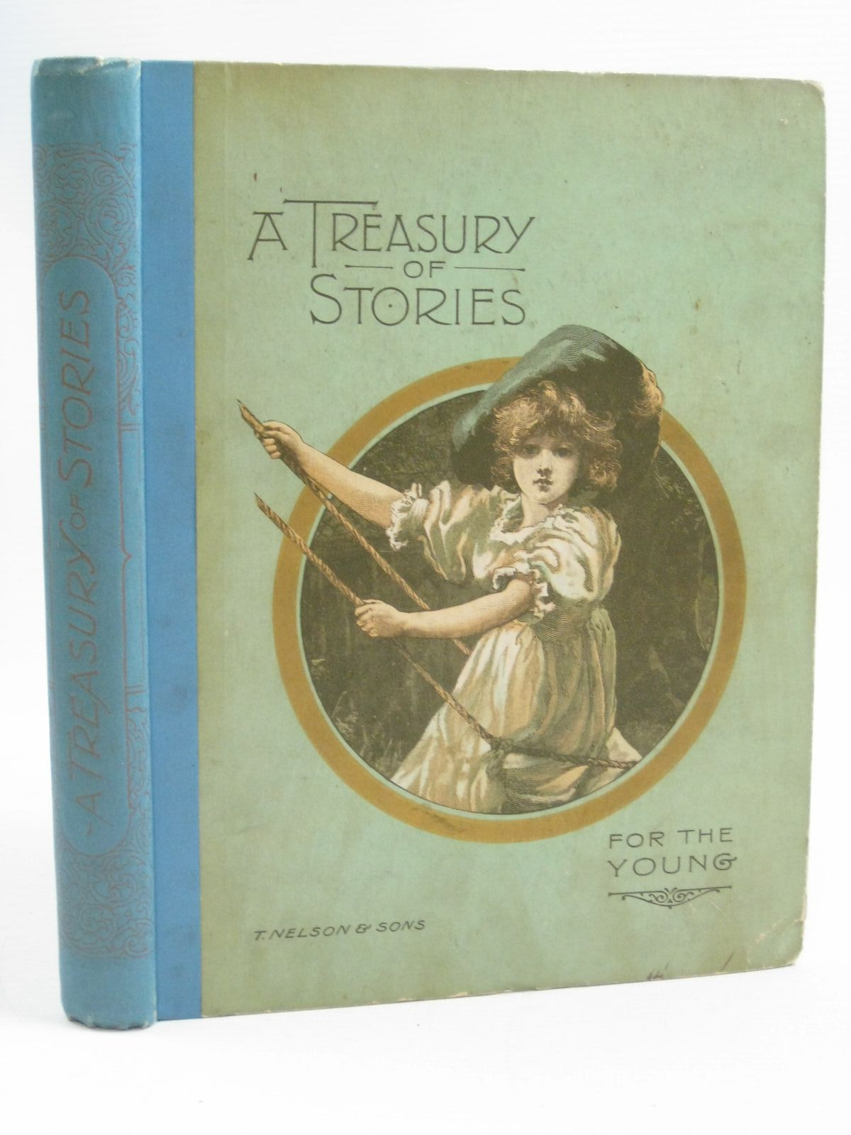 Photo of A TREASURY OF STORIES FOR THE YOUNG written by Taylor, Lucy<br />Hardy, Robina F.<br />et al,  published by Thomas Nelson & Sons (STOCK CODE: 1314928)  for sale by Stella & Rose's Books