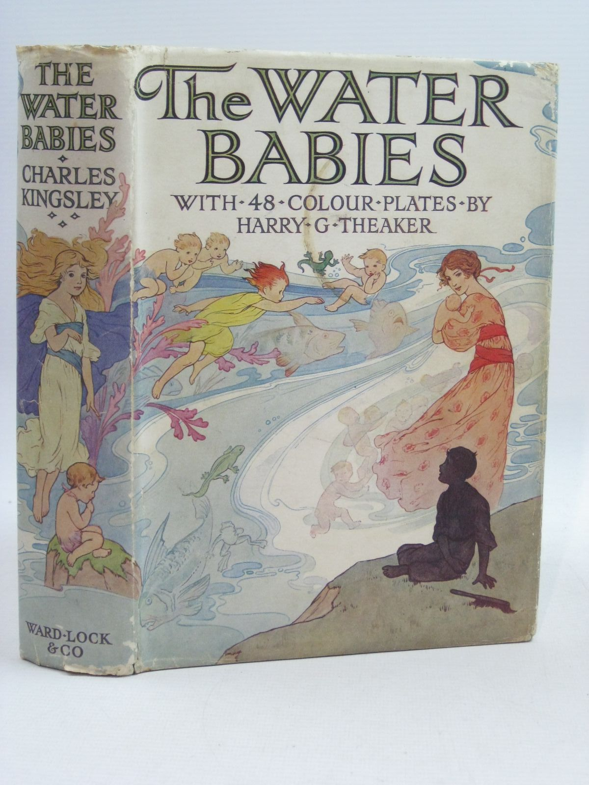 Photo of THE WATER BABIES written by Kingsley, Charles illustrated by Theaker, Harry G. published by Ward, Lock & Co. Ltd. (STOCK CODE: 1314952)  for sale by Stella & Rose's Books