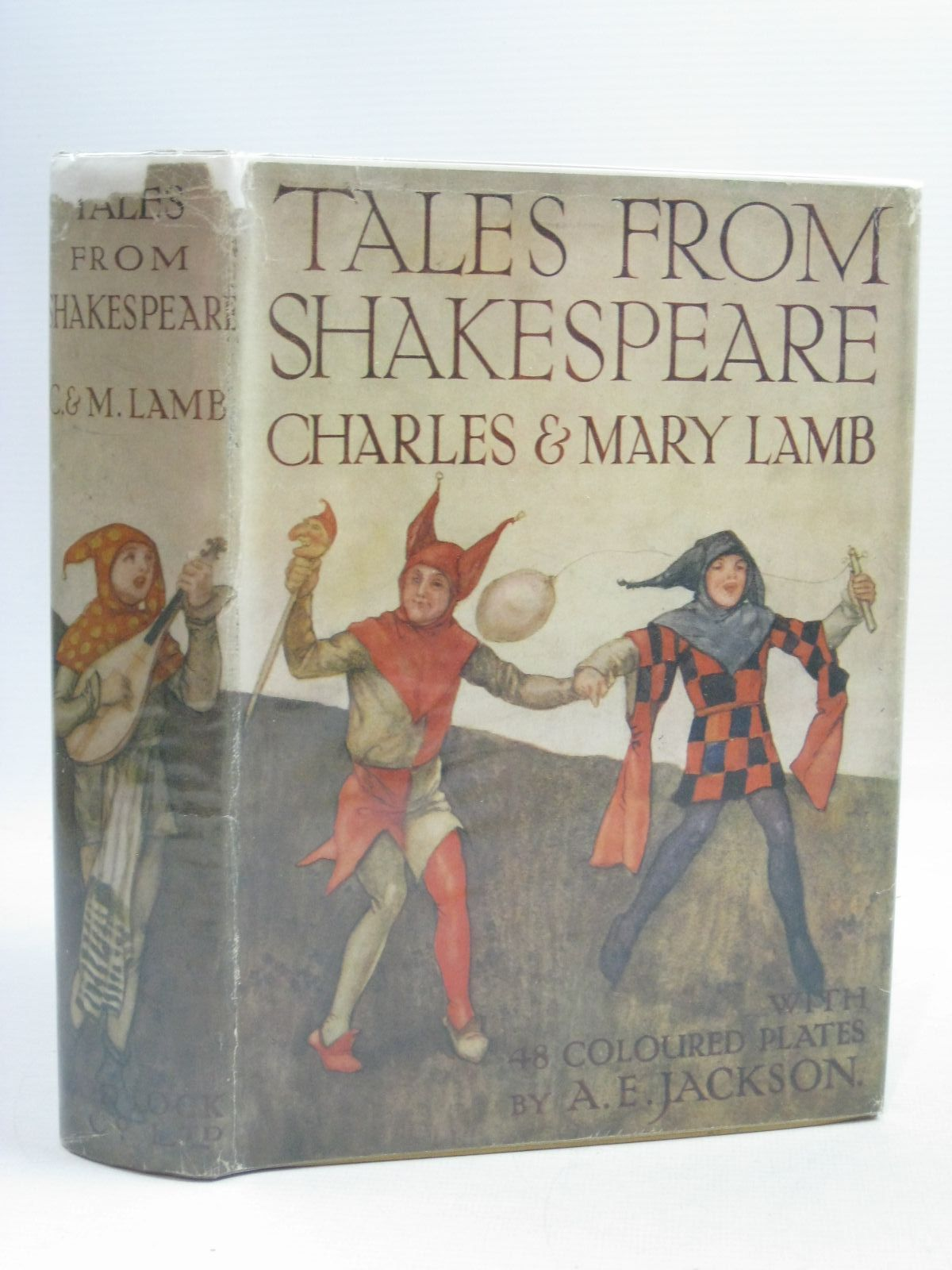 Photo of TALES FROM SHAKESPEARE written by Lamb, Charles<br />Lamb, Mary<br />Shakespeare, William illustrated by Jackson, A.E. published by Ward Lock & Co Ltd. (STOCK CODE: 1314954)  for sale by Stella & Rose's Books