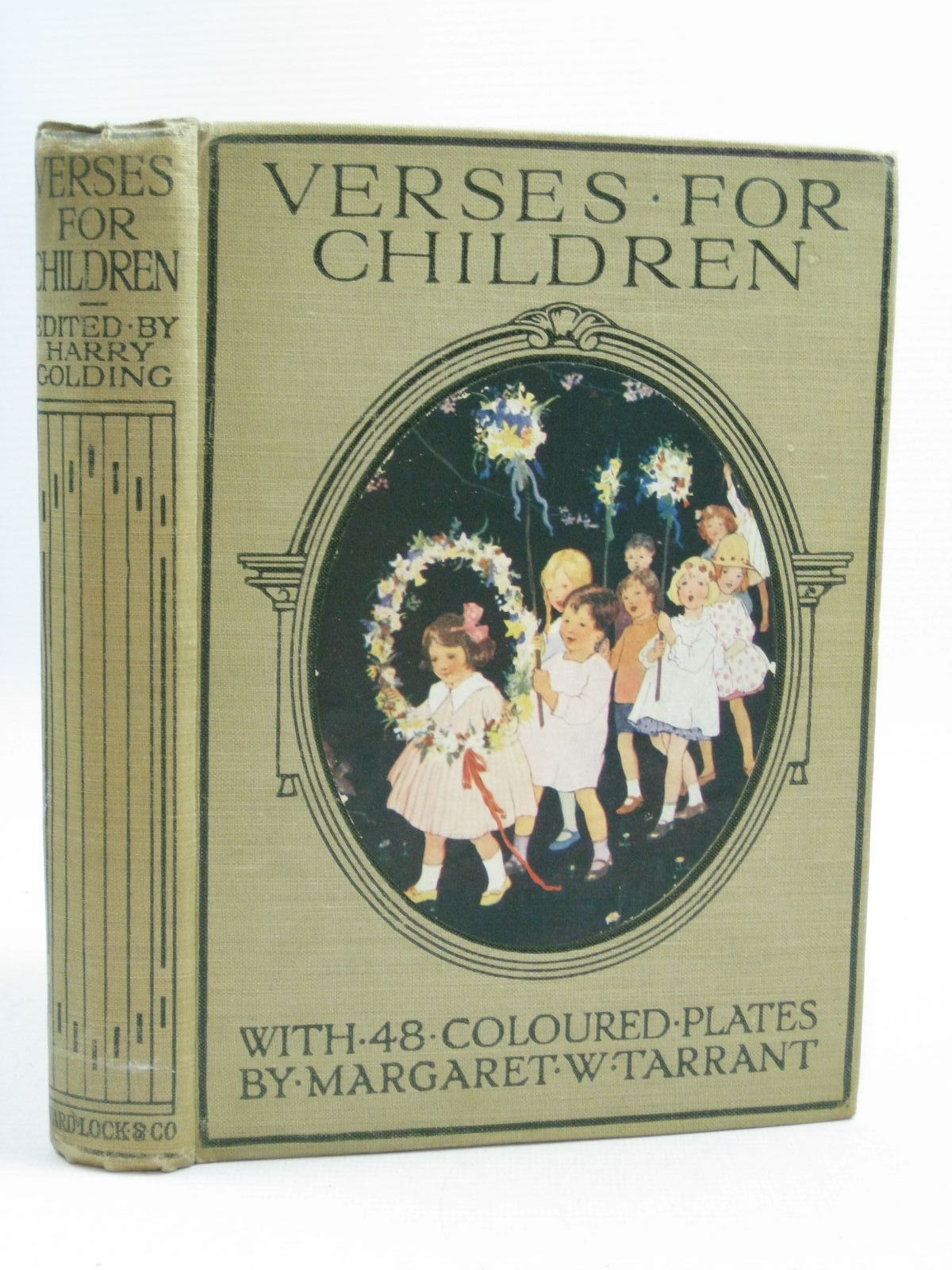 Photo of VERSES FOR CHILDREN written by Golding, Harry illustrated by Tarrant, Margaret published by Ward, Lock & Co. Ltd. (STOCK CODE: 1314962)  for sale by Stella & Rose's Books