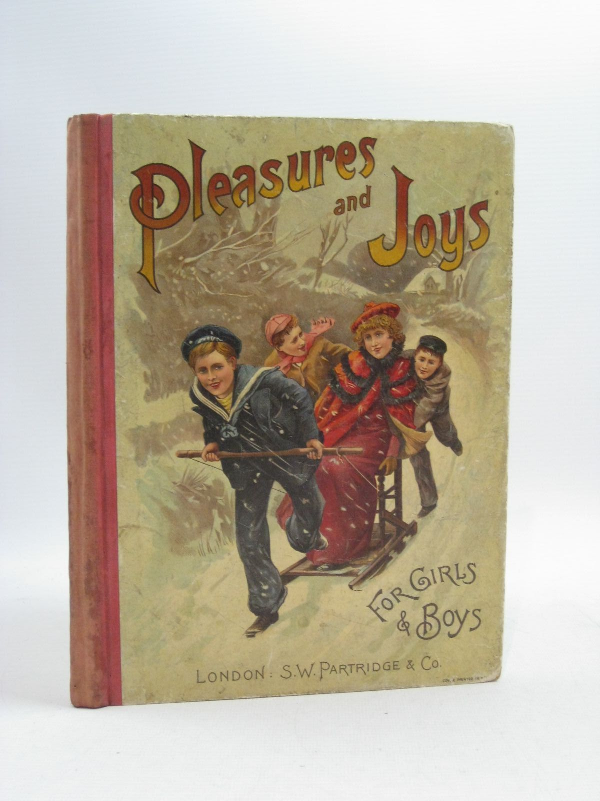 Photo of PLEASURES AND JOYS FOR GIRLS AND BOYS written by D.J.D., illustrated by Copping, Harold<br />et al., published by S.W. Partridge & Co. (STOCK CODE: 1314976)  for sale by Stella & Rose's Books
