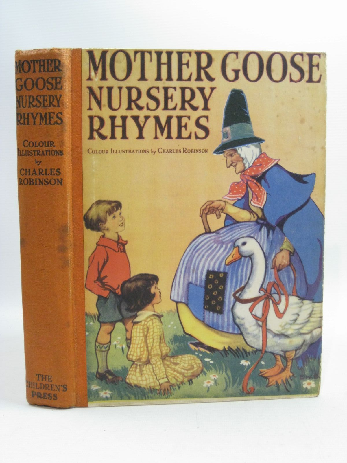 Photo of MOTHER GOOSE NURSERY RHYMES written by Tadema, Laurence Alma illustrated by Robinson, Charles published by The Children's Press (STOCK CODE: 1314985)  for sale by Stella & Rose's Books