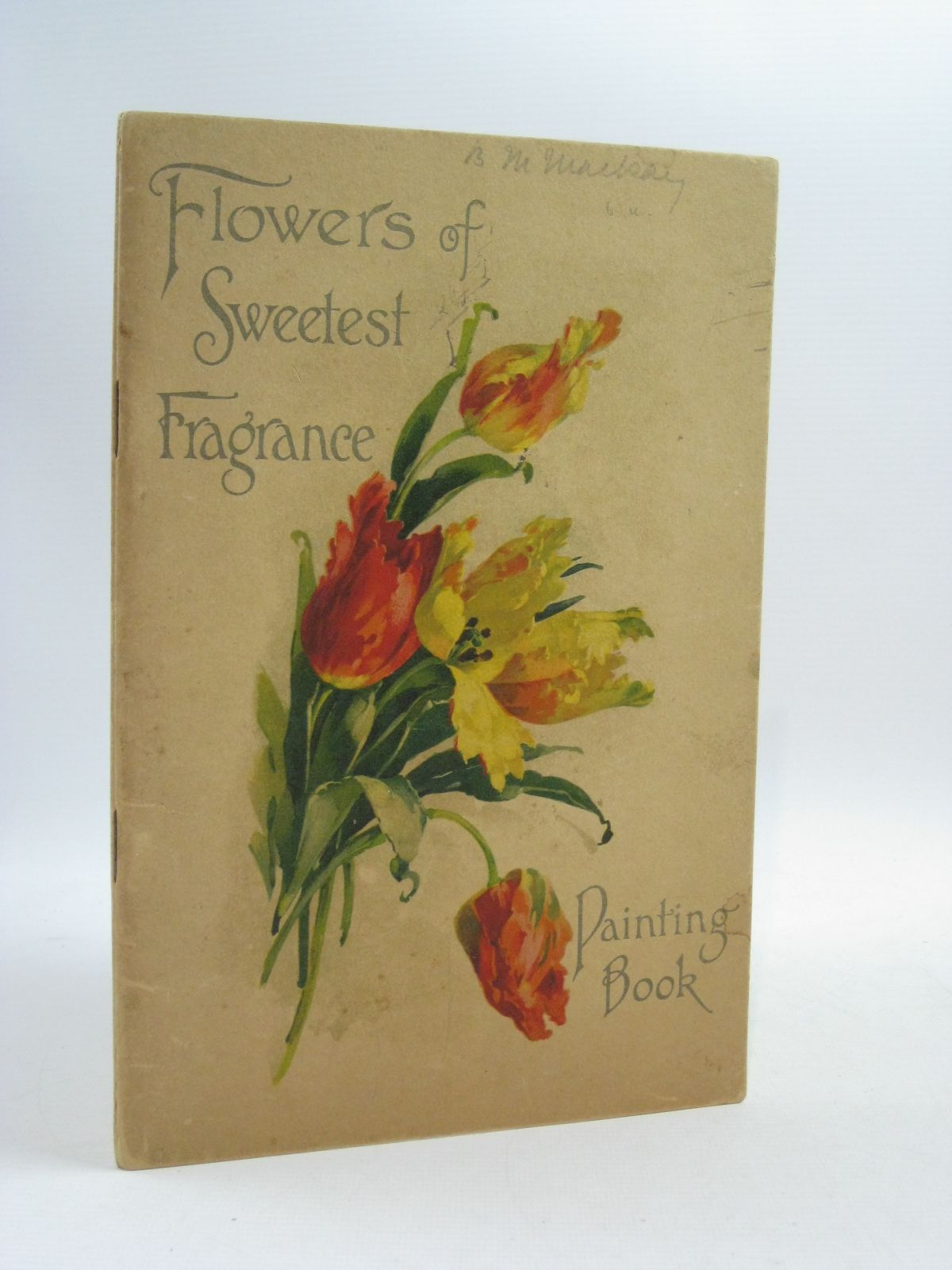 Photo of FLOWERS OF SWEETEST FRAGRANCE PAINTING BOOK (STOCK CODE: 1314994)  for sale by Stella & Rose's Books