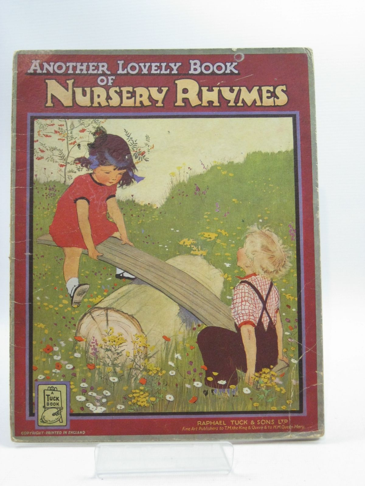Photo of ANOTHER LOVELY BOOK OF NURSERY RHYMES illustrated by Dawson, Muriel published by Raphael Tuck & Sons Ltd. (STOCK CODE: 1315006)  for sale by Stella & Rose's Books