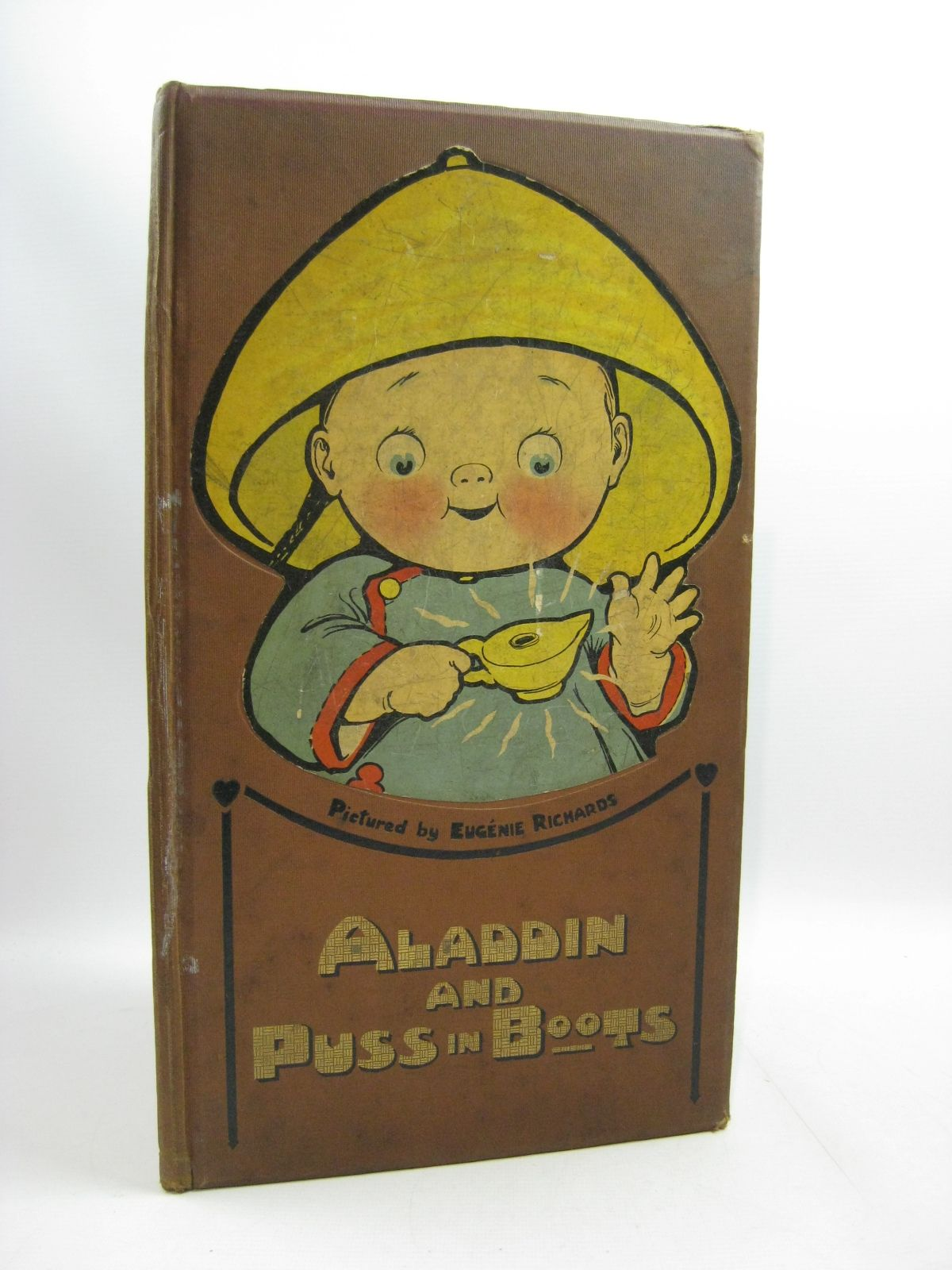 Photo of ALADDIN AND PUSS IN BOOTS illustrated by Richards, Eugenie published by Dean & Son Ltd. (STOCK CODE: 1315012)  for sale by Stella & Rose's Books