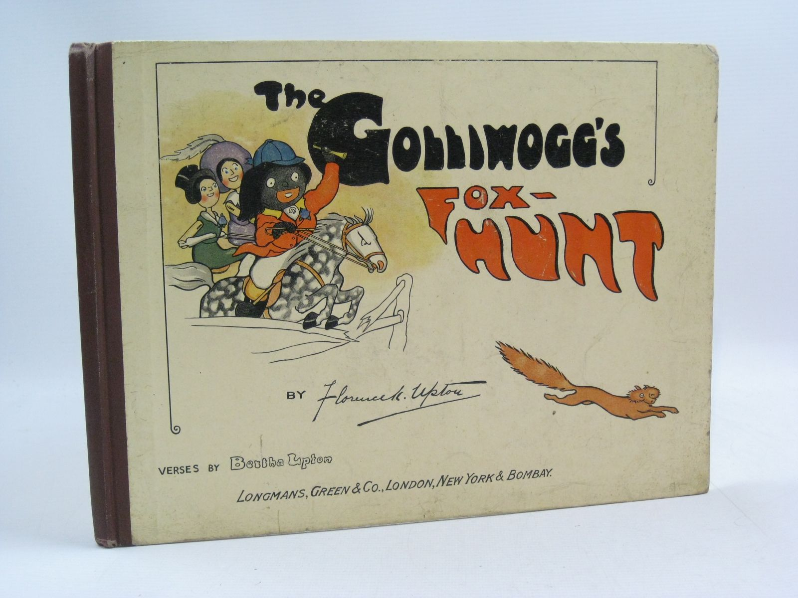 Photo of THE GOLLIWOGG'S FOX-HUNT written by Upton, Bertha illustrated by Upton, Florence published by Longmans, Green & Co. (STOCK CODE: 1315017)  for sale by Stella & Rose's Books