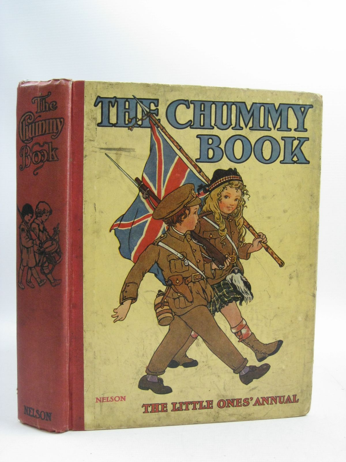 Photo of THE CHUMMY BOOK -  THE LITTLE ONES' ANNUAL THIRD YEAR written by Shirley, Edward<br />Clayton, Jacqueline<br />Talbot, Ethel<br />et al, illustrated by Cowham, Hilda<br />Rees, E. Dorothy<br />Anderson, Anne<br />Attwell, Mabel Lucie<br />et al., published by Thomas Nelson & Sons (STOCK CODE: 1315068)  for sale by Stella & Rose's Books