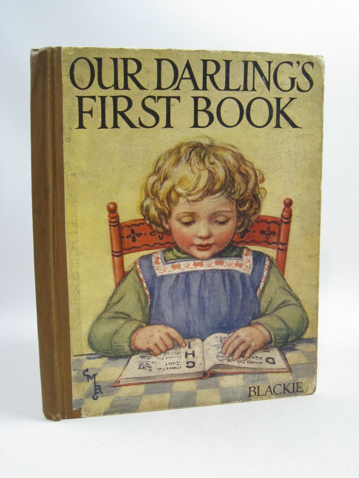 Photo of OUR DARLING'S FIRST BOOK illustrated by Barker, Cicely Mary<br />Neilson, Harry B.<br />Cubitt, Edith A. published by Blackie & Son Ltd. (STOCK CODE: 1315069)  for sale by Stella & Rose's Books