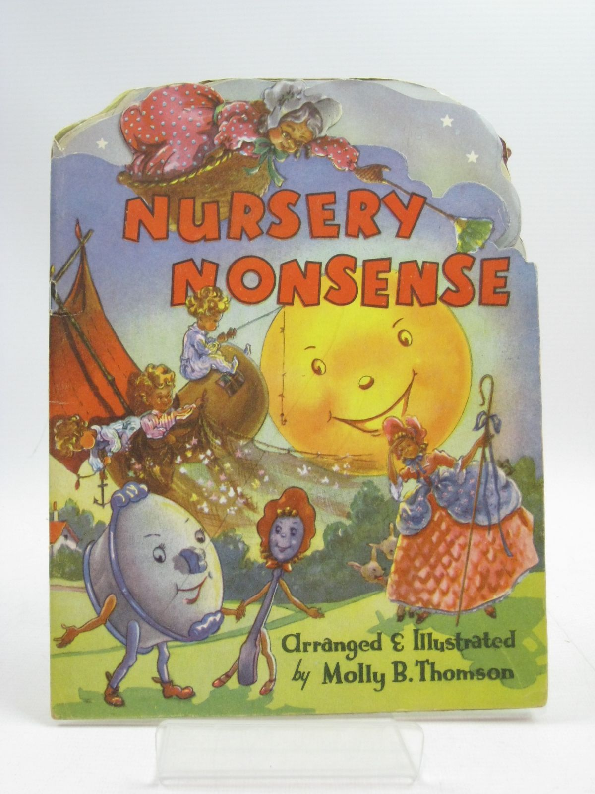 Photo of NURSERY NONSENSE written by Thomson, Molly B. illustrated by Thomson, Molly B. published by Collins Clear-Type Press (STOCK CODE: 1315085)  for sale by Stella & Rose's Books
