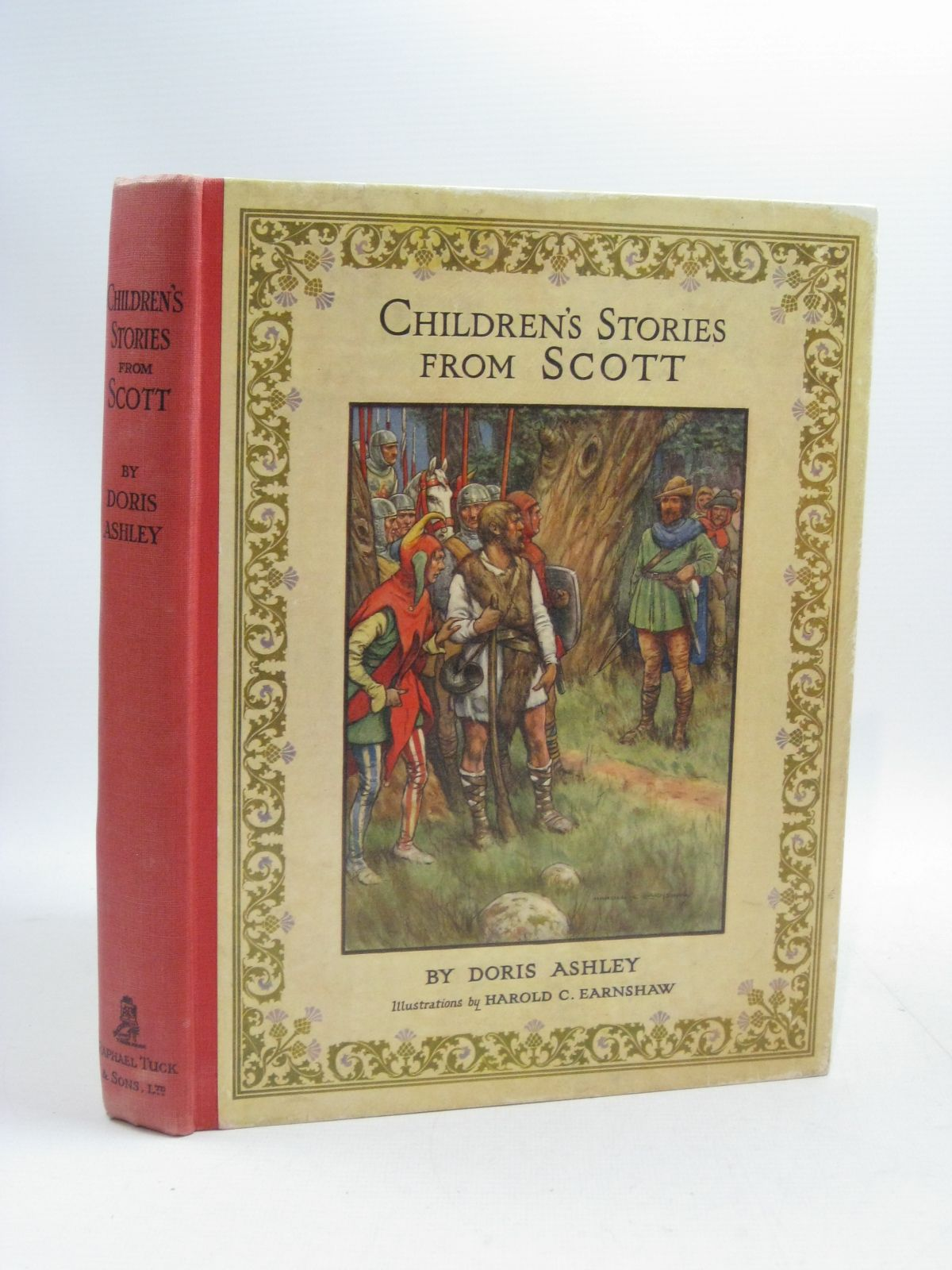 Photo of CHILDREN'S STORIES FROM SCOTT written by Ashley, Doris<br />Vredenburg, Edric illustrated by Earnshaw, Harold C. published by Raphael Tuck & Sons Ltd. (STOCK CODE: 1315098)  for sale by Stella & Rose's Books