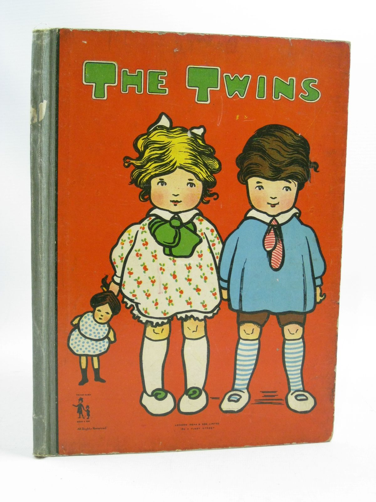 Photo of KIDDIEWIDDIES STORY BOOK OR THE TWINS published by Dean & Son Ltd. (STOCK CODE: 1315099)  for sale by Stella & Rose's Books