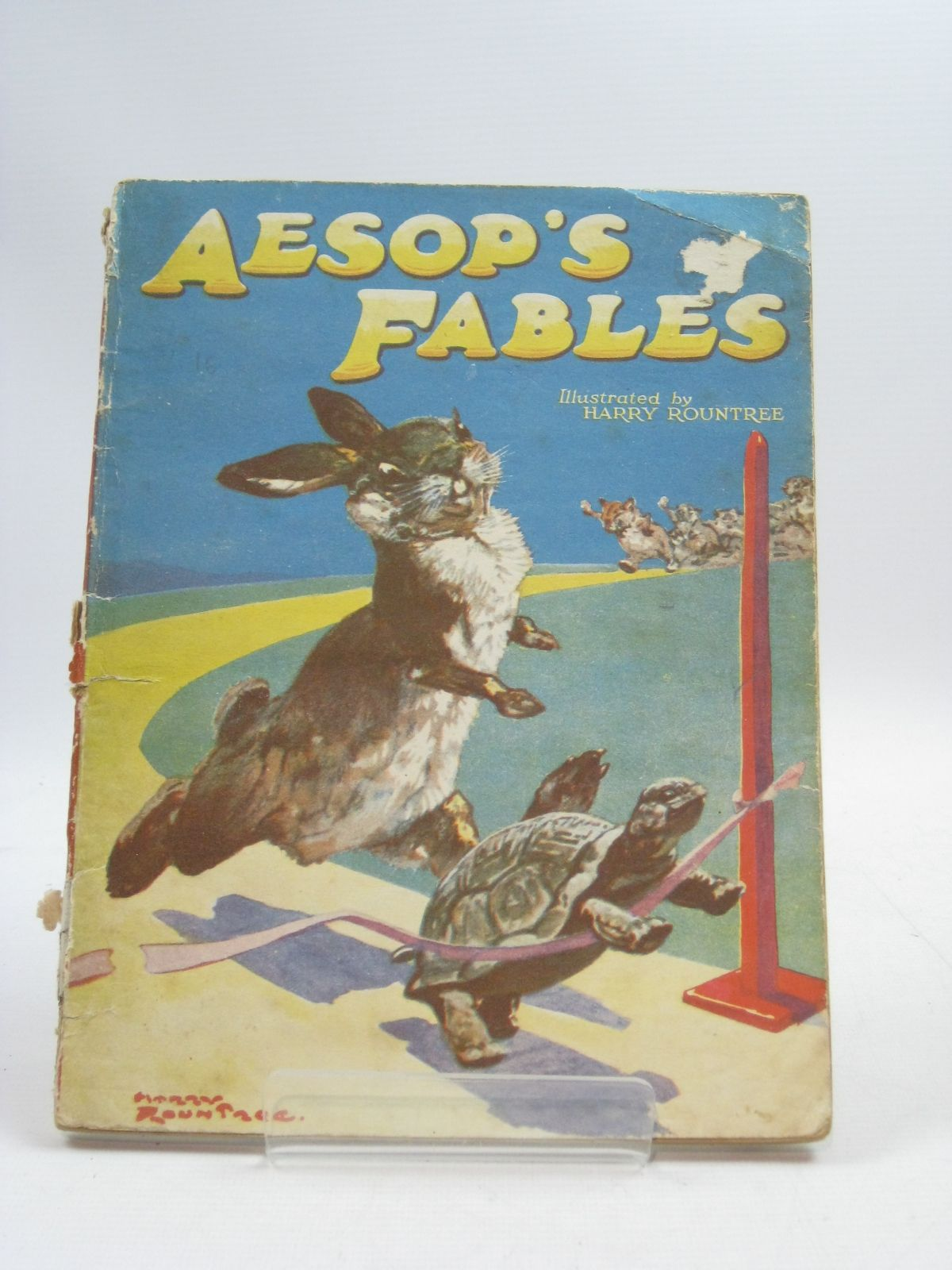 Photo of AESOP'S FABLES written by Aesop, illustrated by Rountree, Harry published by The Children's Press (STOCK CODE: 1315102)  for sale by Stella & Rose's Books
