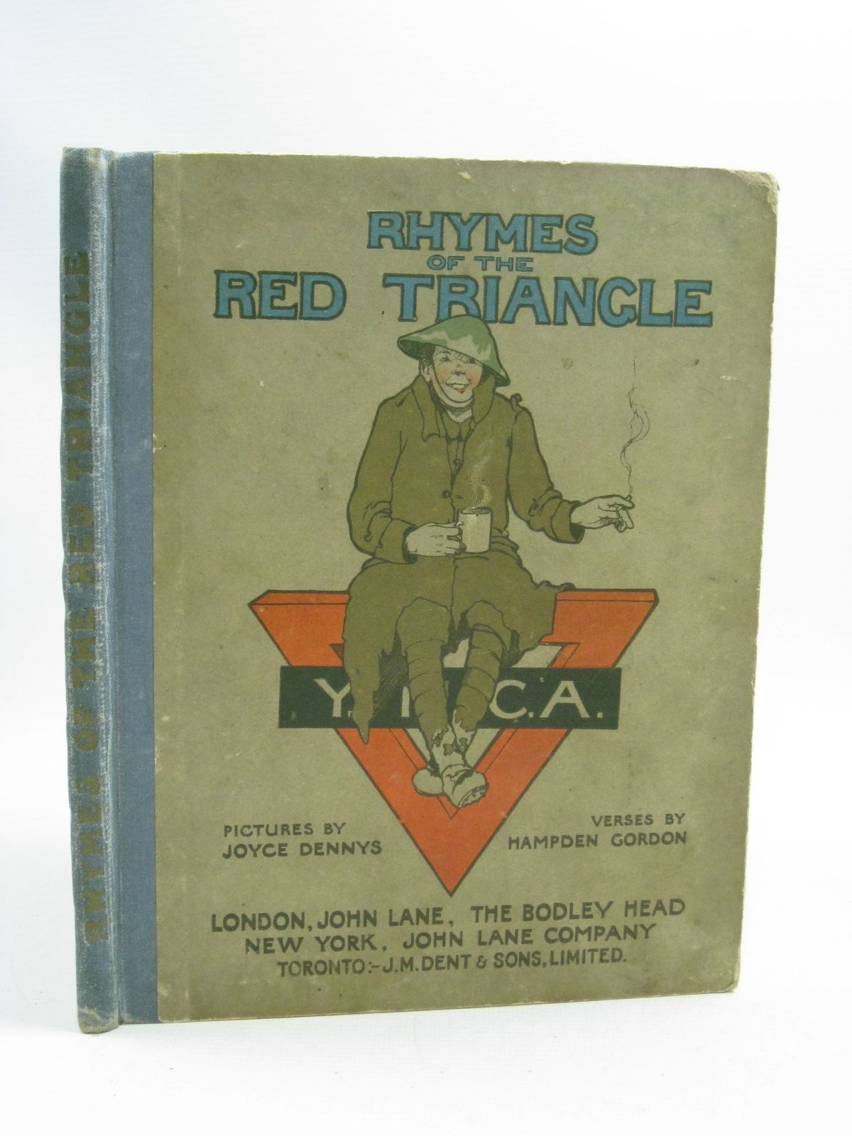 Photo of RHYMES OF THE RED TRIANGLE written by Gordon, Hampden illustrated by Dennys, Joyce published by John Lane The Bodley Head (STOCK CODE: 1315103)  for sale by Stella & Rose's Books