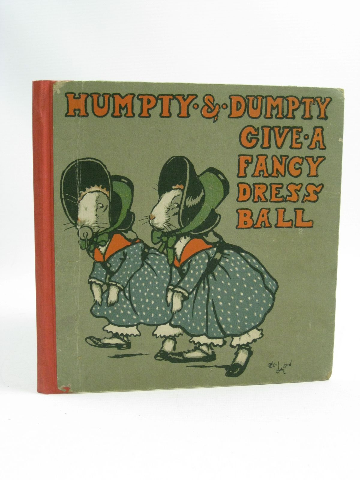 Photo of HUMPTY AND DUMPTY GIVE A FANCY DRESS BALL written by Byron, May illustrated by Aldin, Cecil published by Oxford University Press, Humphrey Milford (STOCK CODE: 1315107)  for sale by Stella & Rose's Books