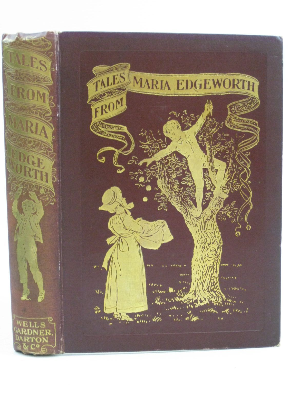 Photo of TALES FROM MARIA EDGEWORTH written by Edgeworth, Maria illustrated by Thomson, Hugh published by Wells Gardner, Darton & Co. Limited (STOCK CODE: 1315113)  for sale by Stella & Rose's Books