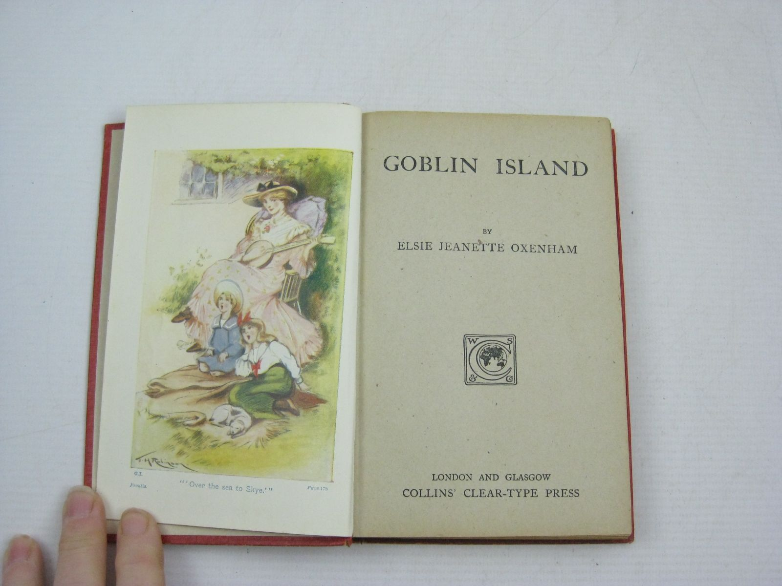 Photo of GOBLIN ISLAND written by Oxenham, Elsie J. illustrated by Robinson, T.H. published by Collins Clear-Type Press (STOCK CODE: 1315127)  for sale by Stella & Rose's Books