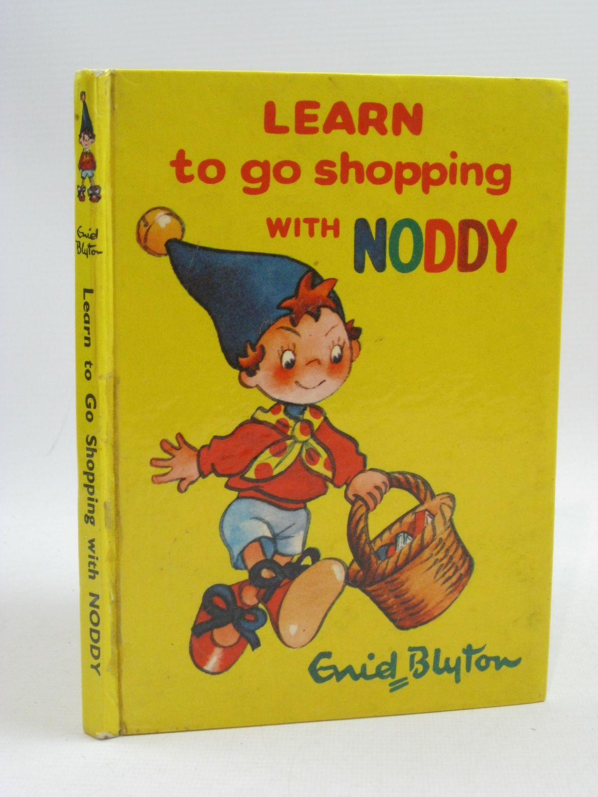 Photo of LEARN TO GO SHOPPING WITH NODDY written by Blyton, Enid illustrated by Tyndall, Robert published by Sampson Low, Marston & Co. Ltd., Richards Press Ltd. (STOCK CODE: 1315167)  for sale by Stella & Rose's Books