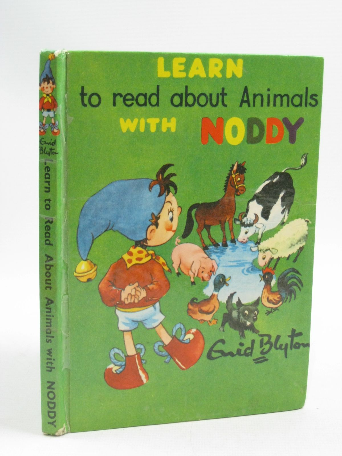 Photo of LEARN TO READ ABOUT ANIMALS WITH NODDY written by Blyton, Enid published by Sampson Low, Marston & Co. Ltd., The Richards Press Ltd. (STOCK CODE: 1315169)  for sale by Stella & Rose's Books