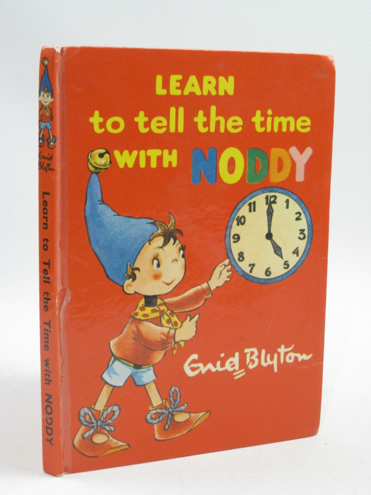 Photo of LEARN TO TELL THE TIME WITH NODDY written by Blyton, Enid published by Sampson Low, Marston & Co. Ltd., The Richards Press Ltd. (STOCK CODE: 1315170)  for sale by Stella & Rose's Books